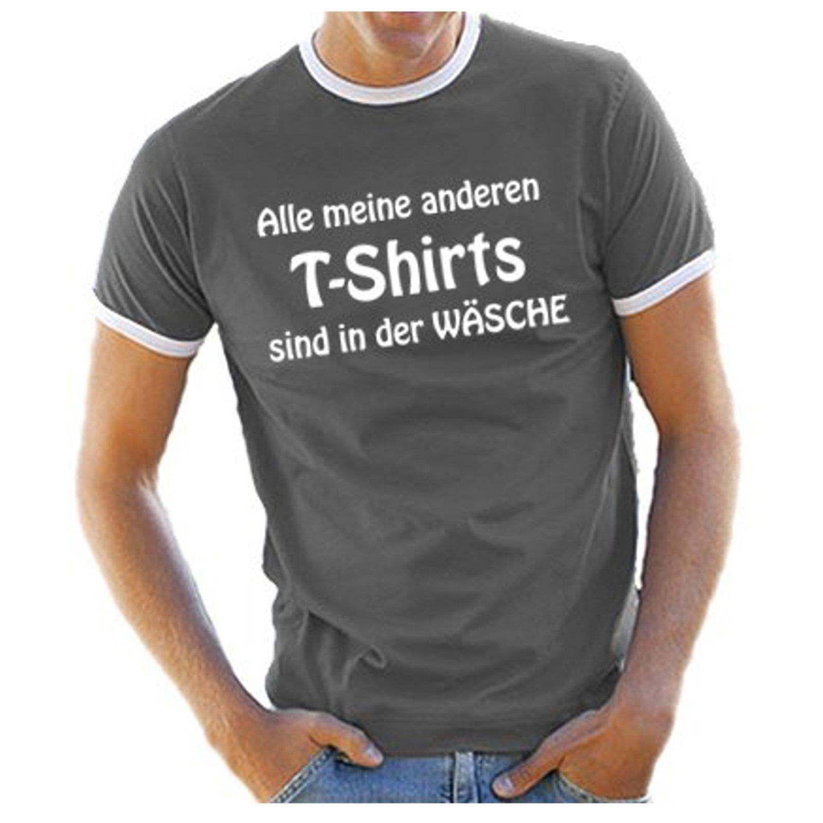 Lustige T Was Männer Guckst Zu Sprüche Sind Du So Kontrast Herren Details Shirt Ringer SUxIqES4w