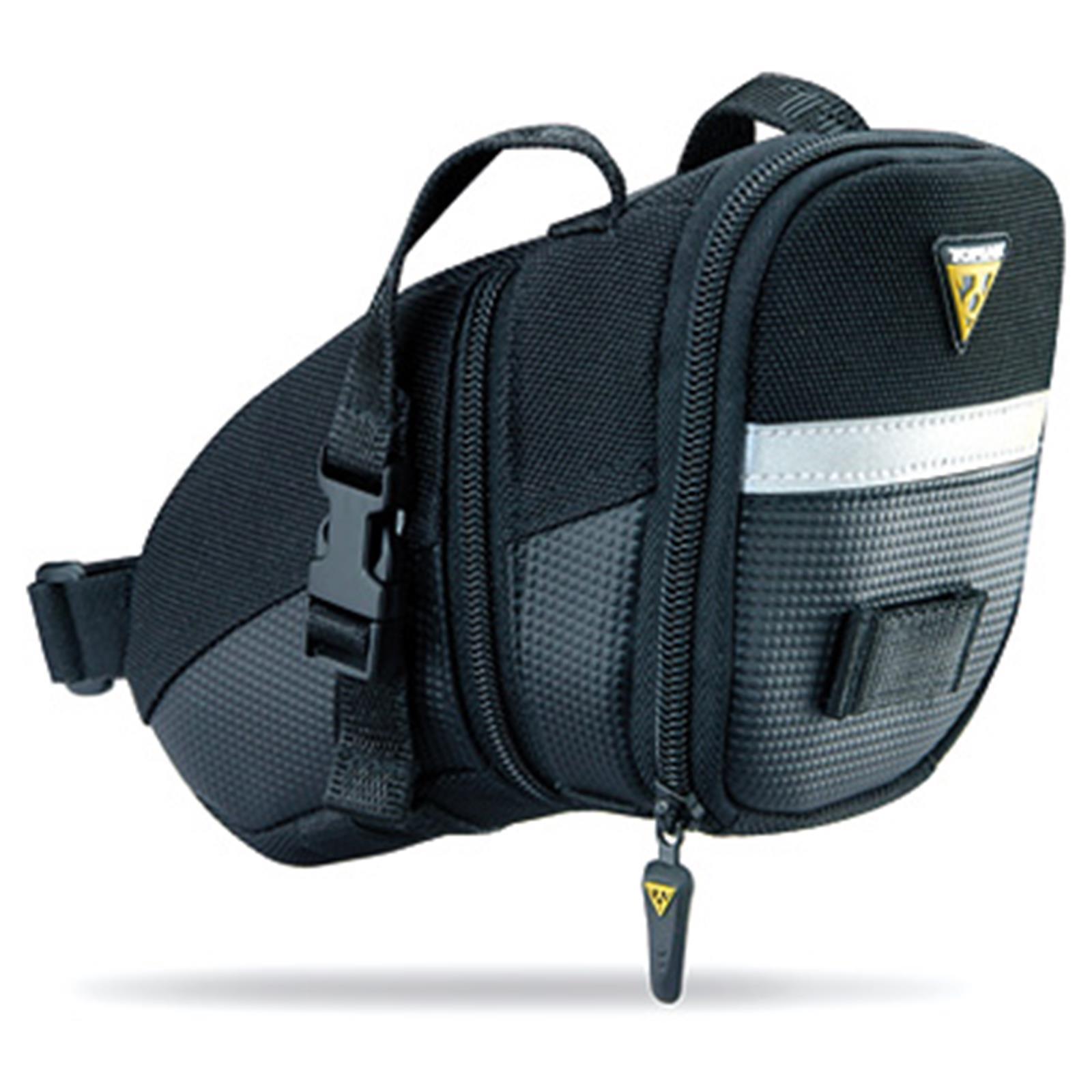 Topeak-Aero-Wedge-Pack-Strap-Sattel-Tasche-Riemen-Schnalle-alle-Groessen-Teflon