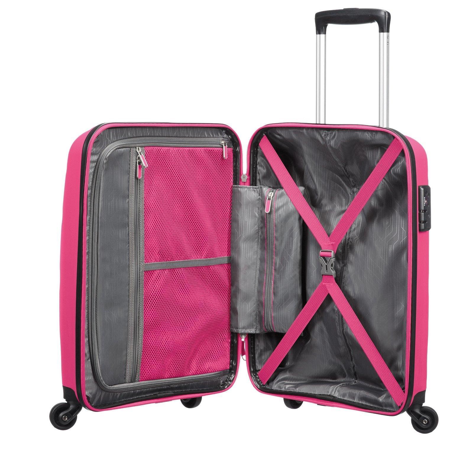 american tourister by samsonite bon air spinner trolley reise koffer 55 66 75 cm ebay. Black Bedroom Furniture Sets. Home Design Ideas