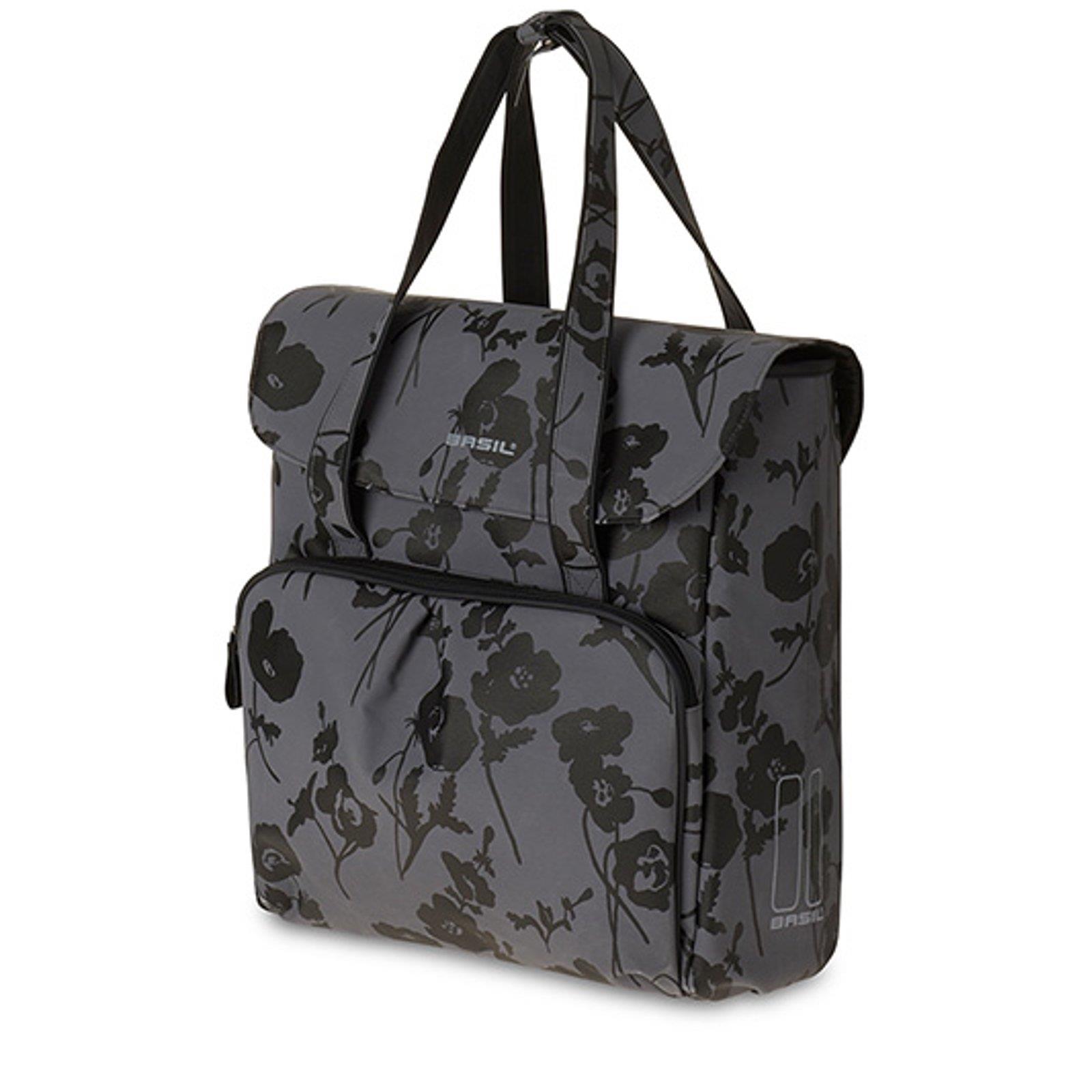 basil elegance shopper tasche fahrrad 24 l fahrradtasche einkaufs packtasche. Black Bedroom Furniture Sets. Home Design Ideas