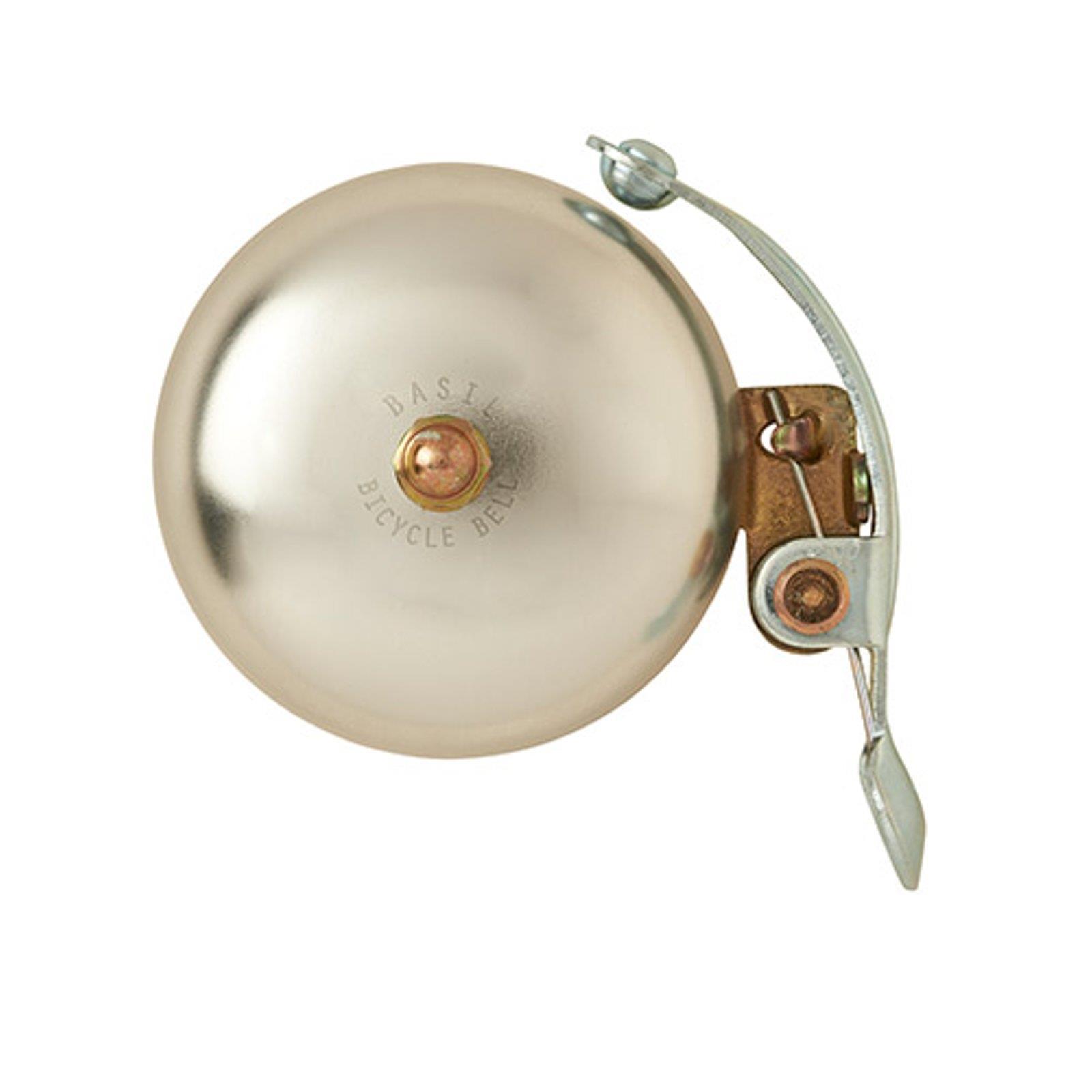 Basil-CAMPANA-Portland-Brass-BICICLETTA-CAMPANELLO-RETRo-VINTAGE-CLASSIC-secondo-elegante miniatura 3