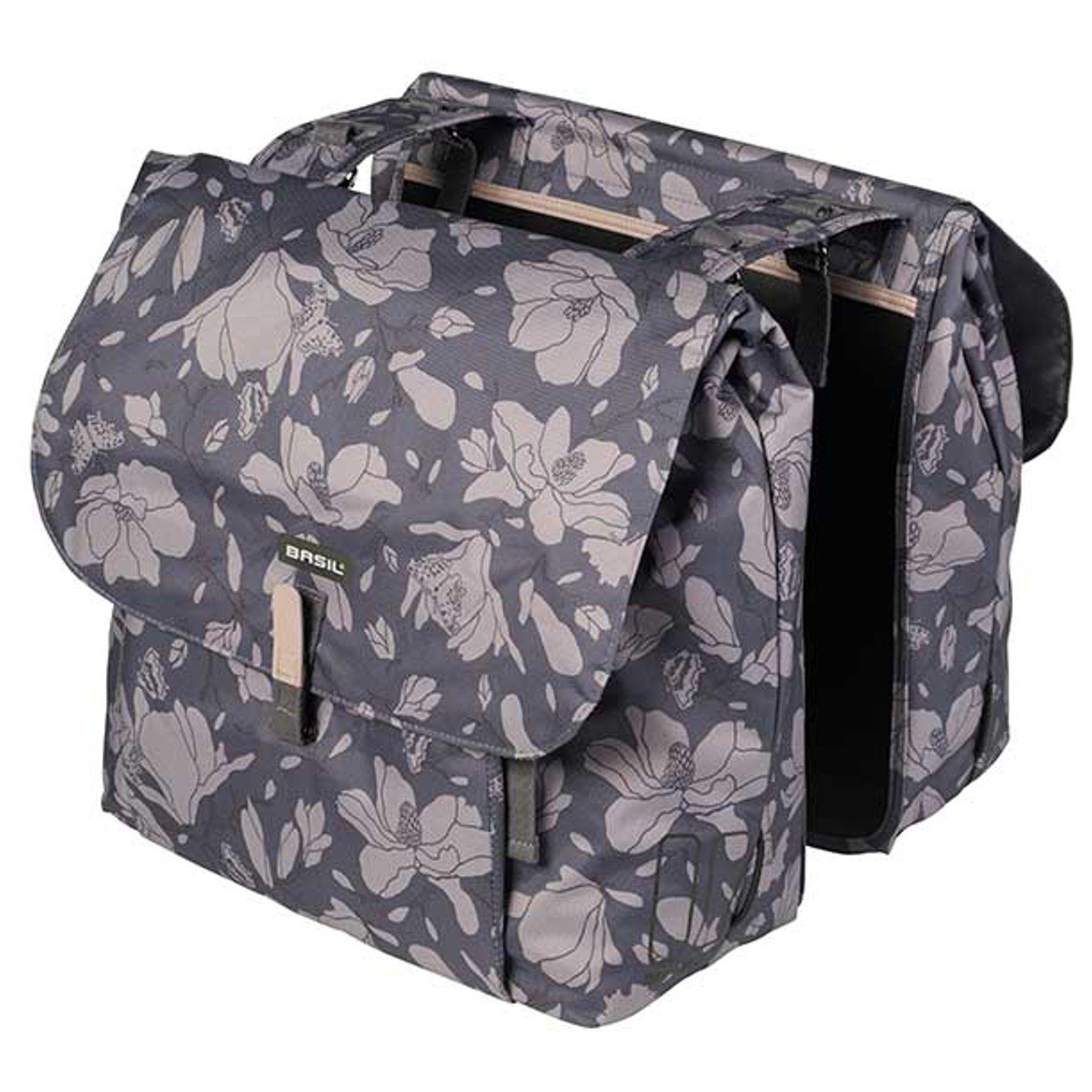 Basil Preston Double Bag 36 Liter Doppelpacktasche Satteltasche Fahrradtasche