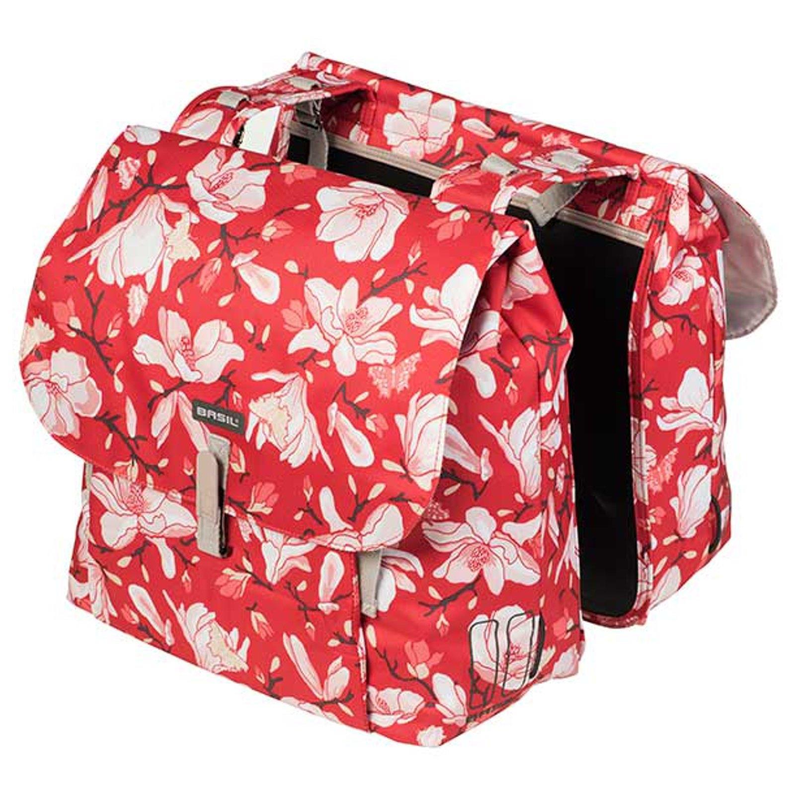 Basil Doppeltasche MAGNOLIA DOUBLE BAG 35 Liter blackberry