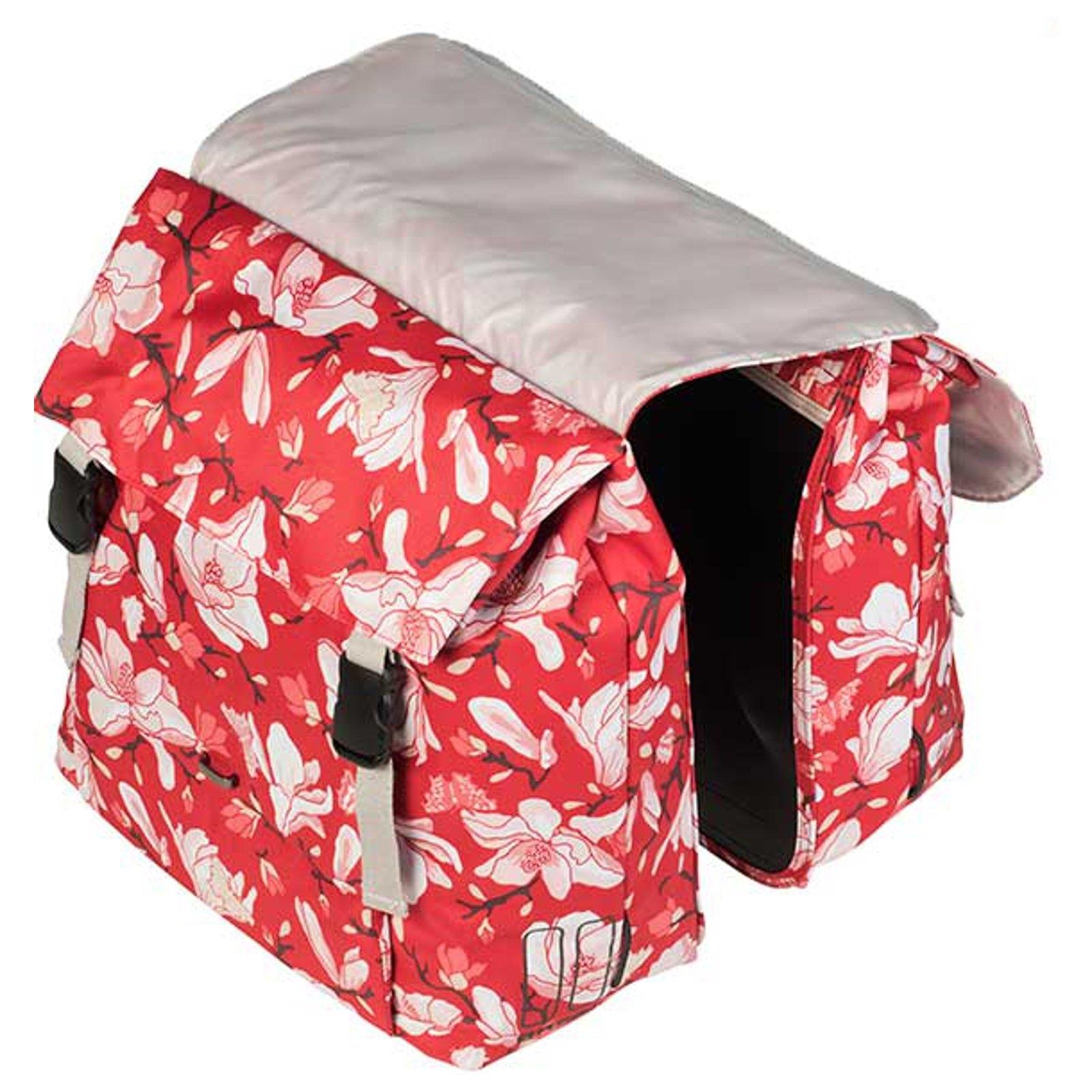 basil magnolia doppel packtasche 35 l fahrrad damen. Black Bedroom Furniture Sets. Home Design Ideas