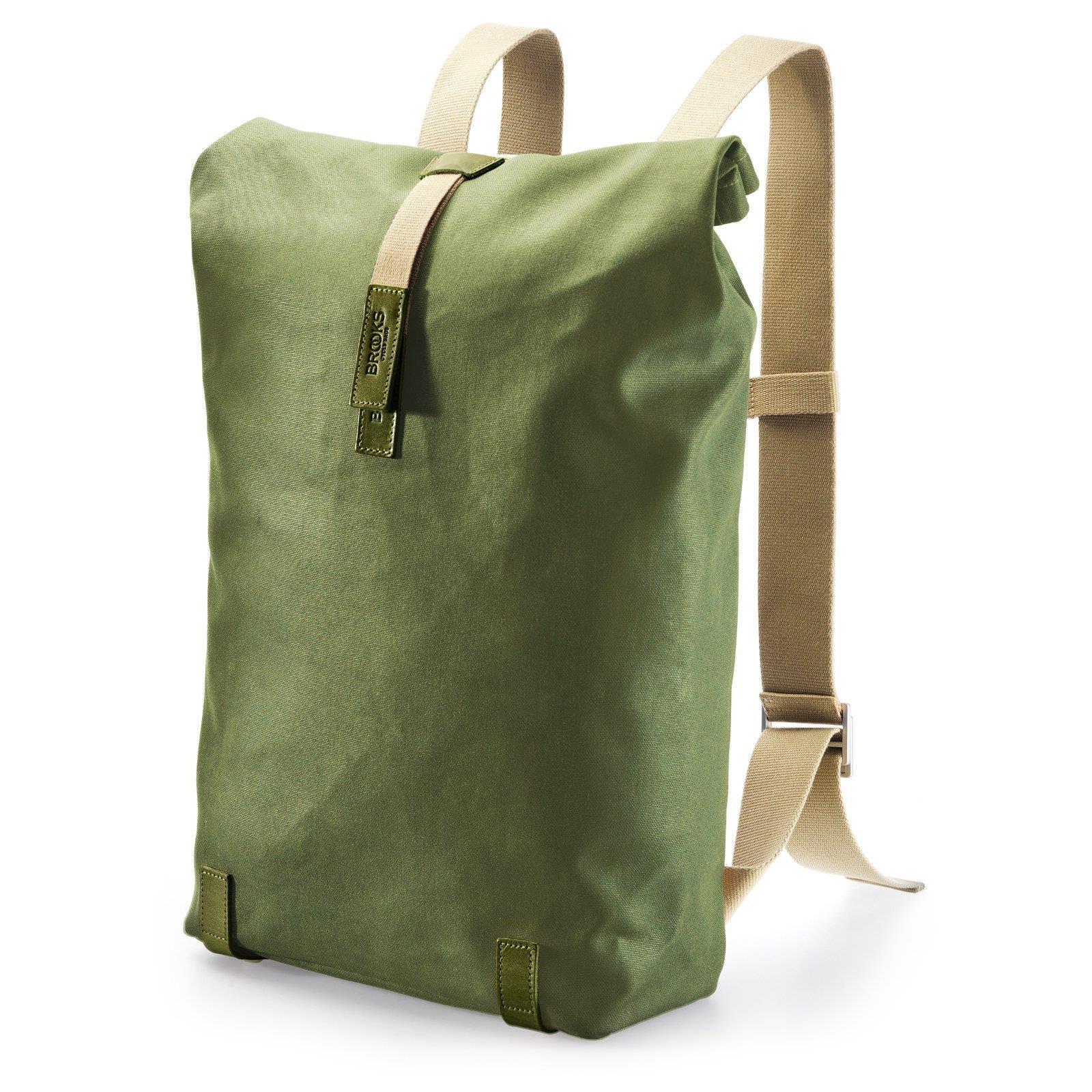 brooks pickwick canvas backpack rucksack leder segeltuch. Black Bedroom Furniture Sets. Home Design Ideas