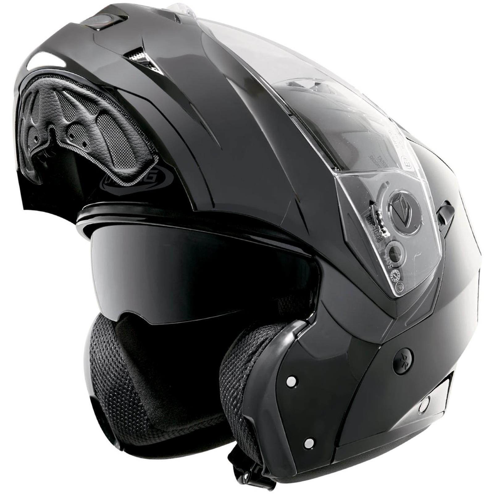 Caberg-Klapp-Helm-Duke-II-2-Smart-Schwarz-Motorrad-Sonnenblende-Pinlock-Jet Indexbild 5