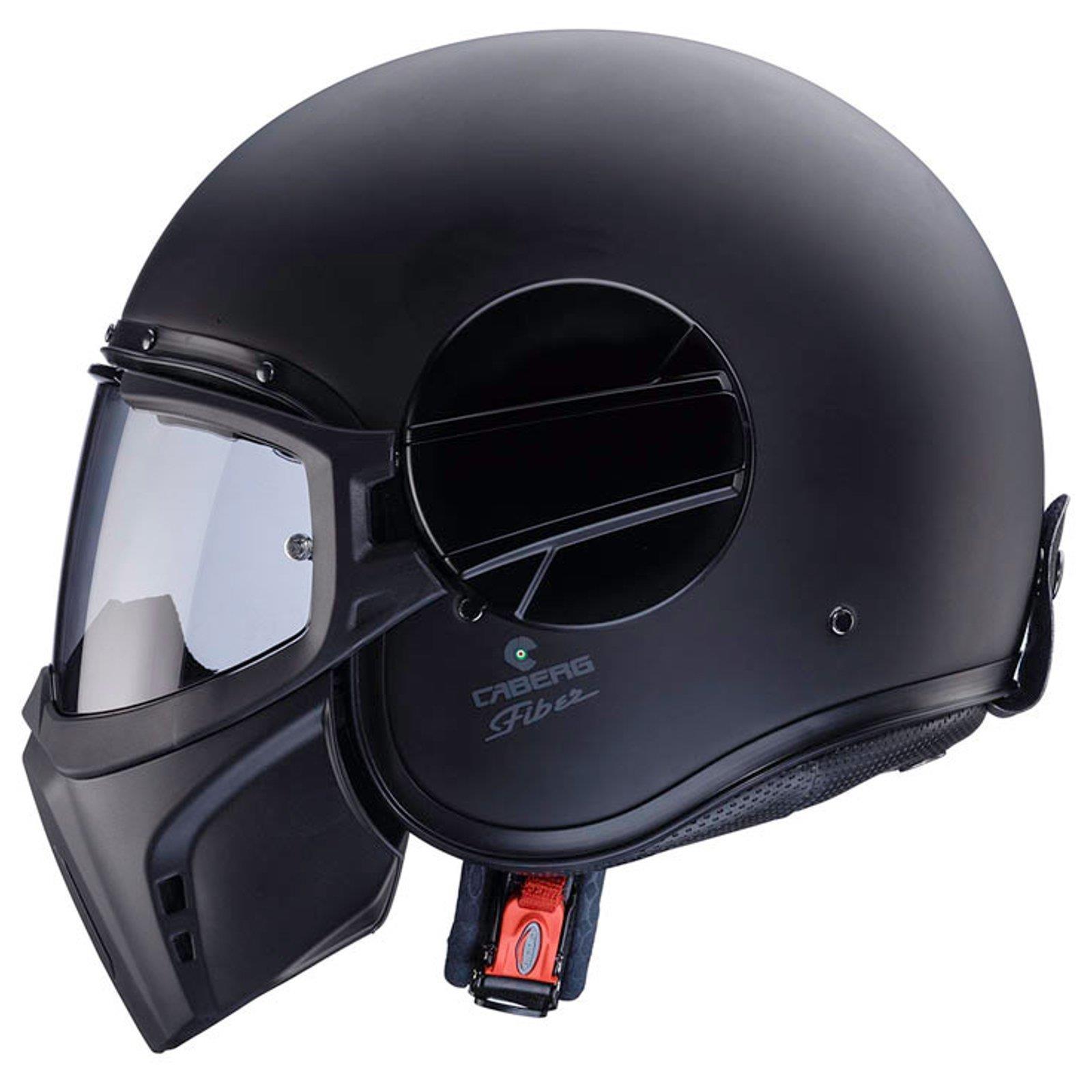caberg ghost motorrad jet helm matt schwarz pinlock visier. Black Bedroom Furniture Sets. Home Design Ideas