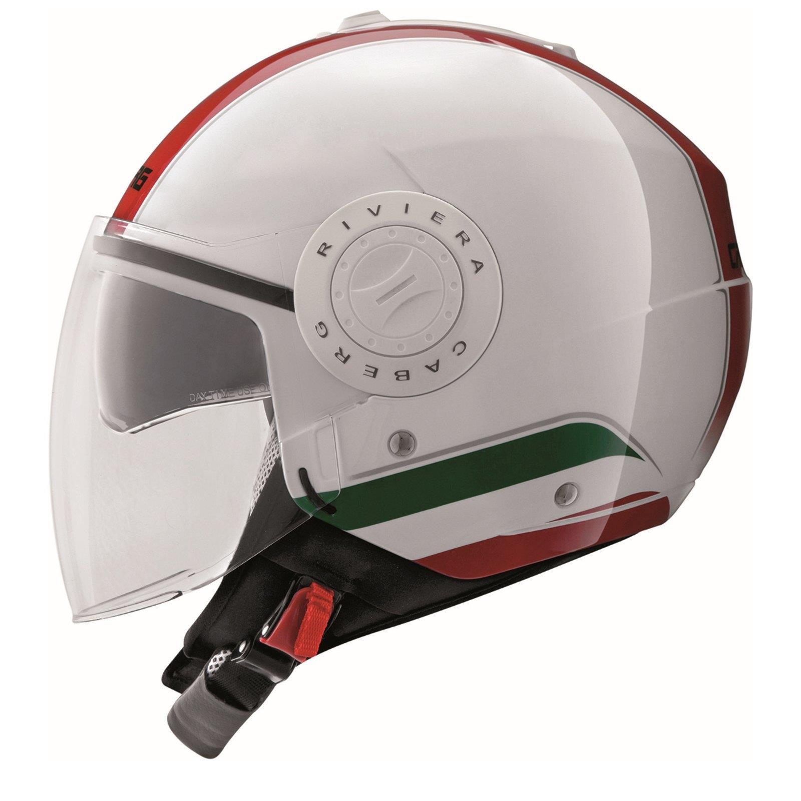 caberg riviera v3 jet helm italia weiss rot gr n motorrad roller motorradhelm ebay. Black Bedroom Furniture Sets. Home Design Ideas