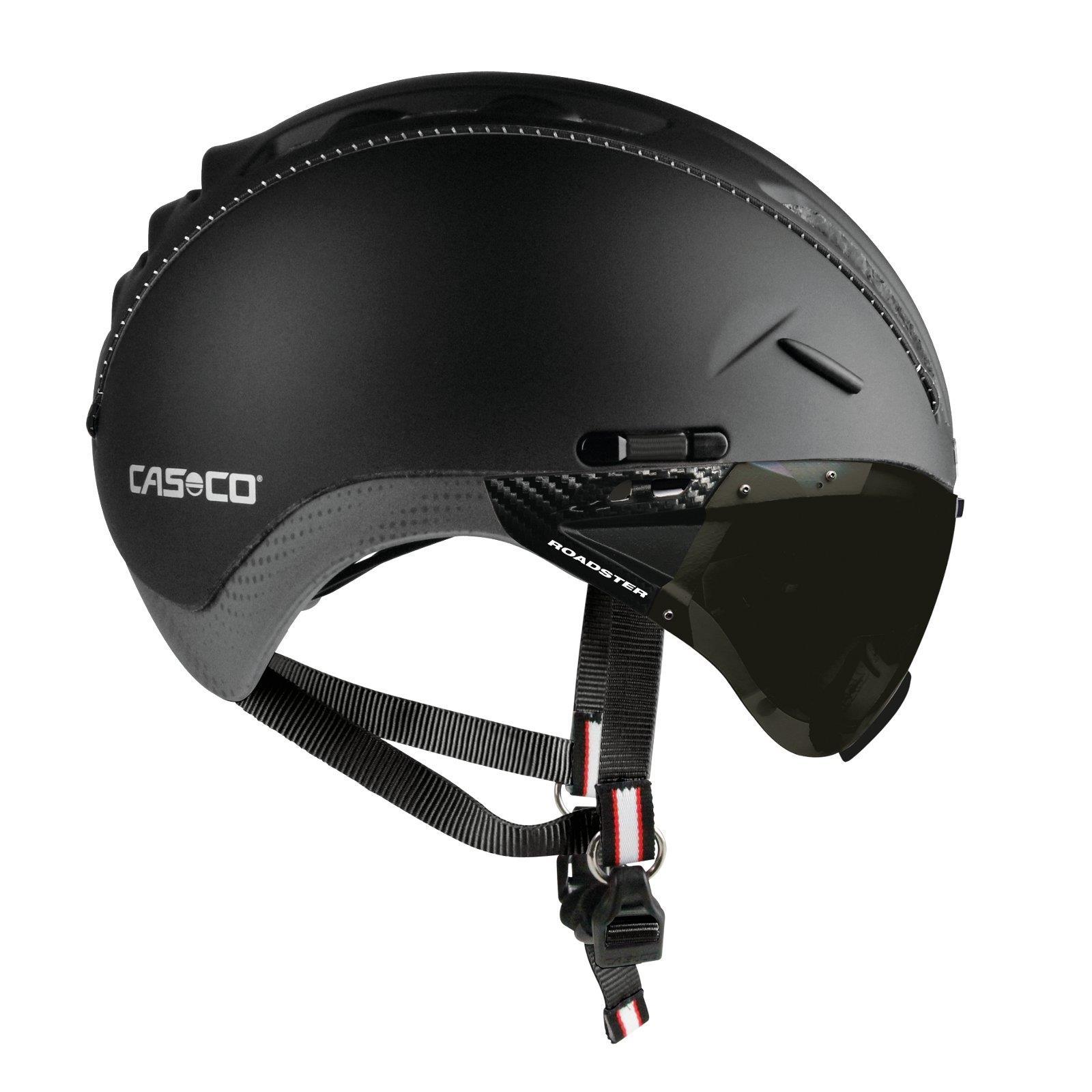 casco roadster tc fahrrad helm inkl visier rad sport. Black Bedroom Furniture Sets. Home Design Ideas