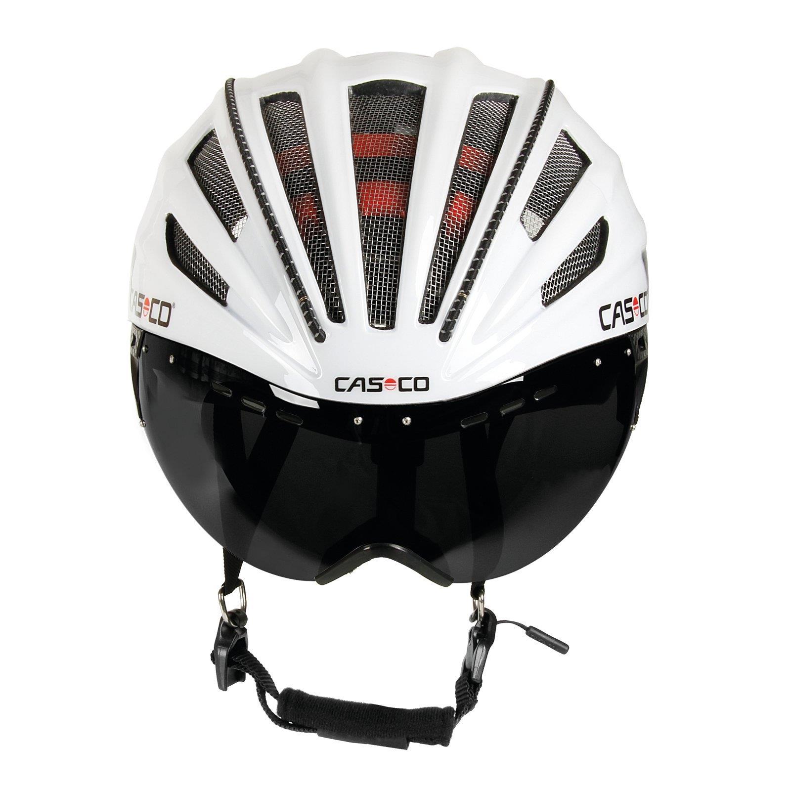 casco speedairo rs schwarz wei road helm mit visier. Black Bedroom Furniture Sets. Home Design Ideas