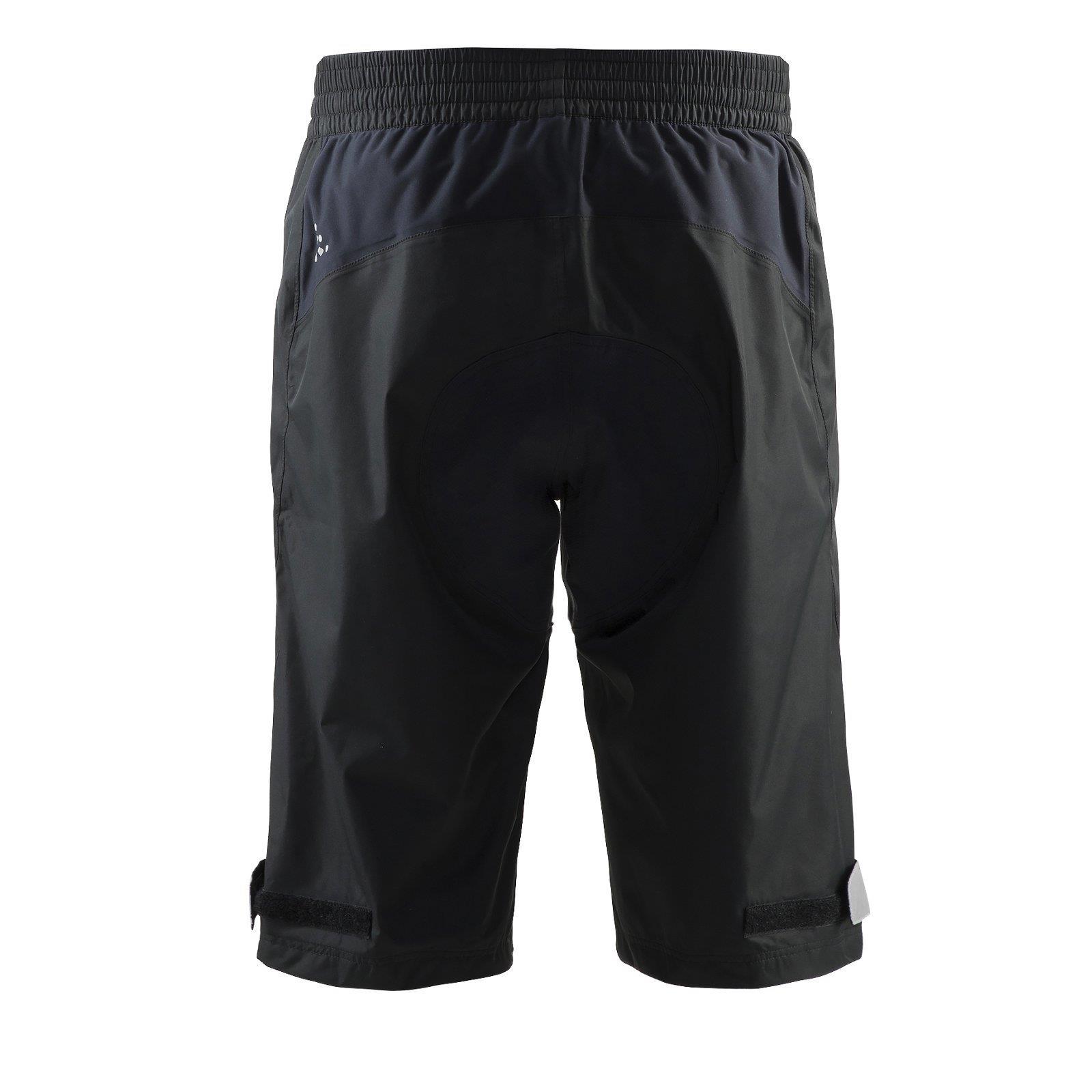craft escape regen shorts herren fahrrad schwarz radhose. Black Bedroom Furniture Sets. Home Design Ideas