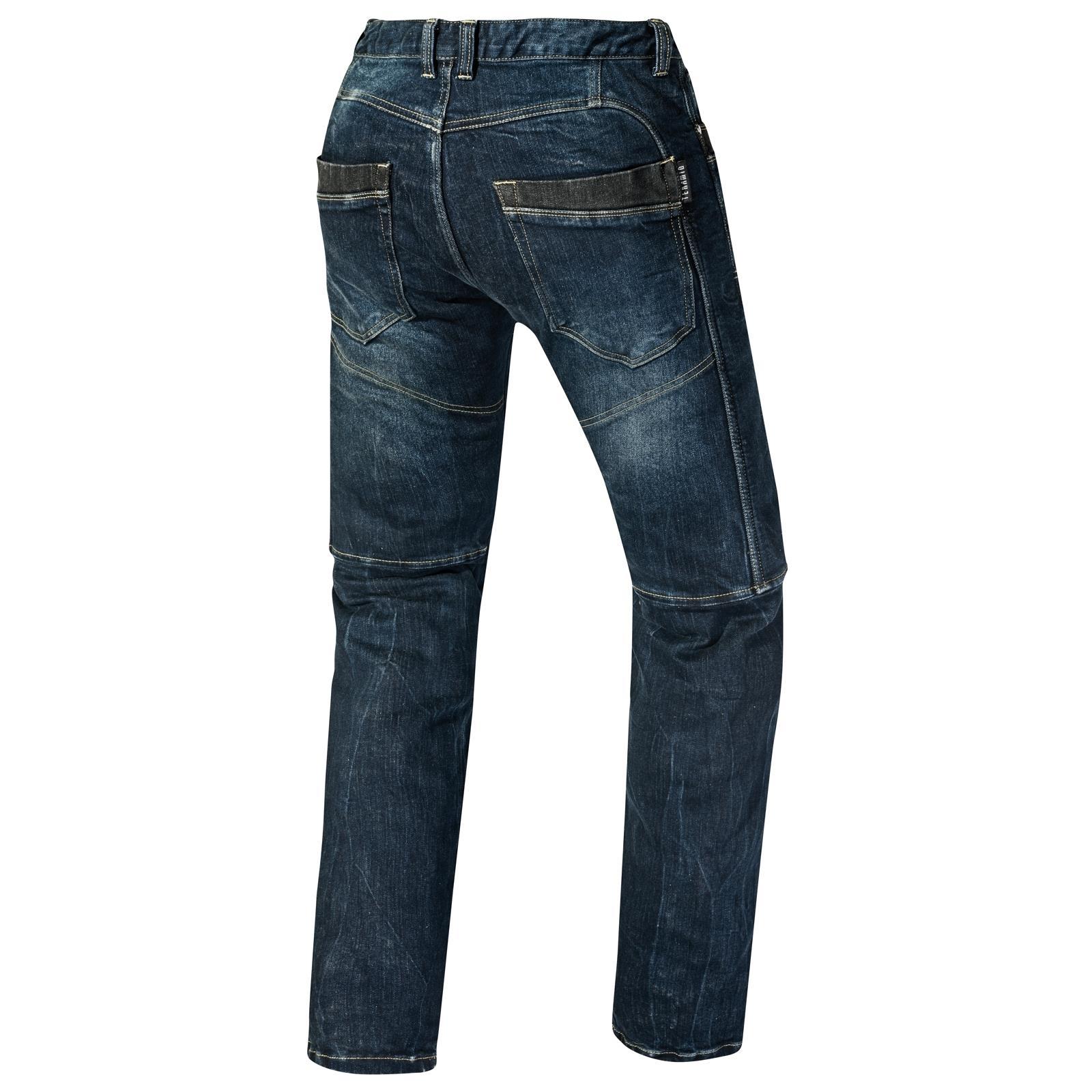 germot jump motorrad jeans herren blau l34 style hohe. Black Bedroom Furniture Sets. Home Design Ideas