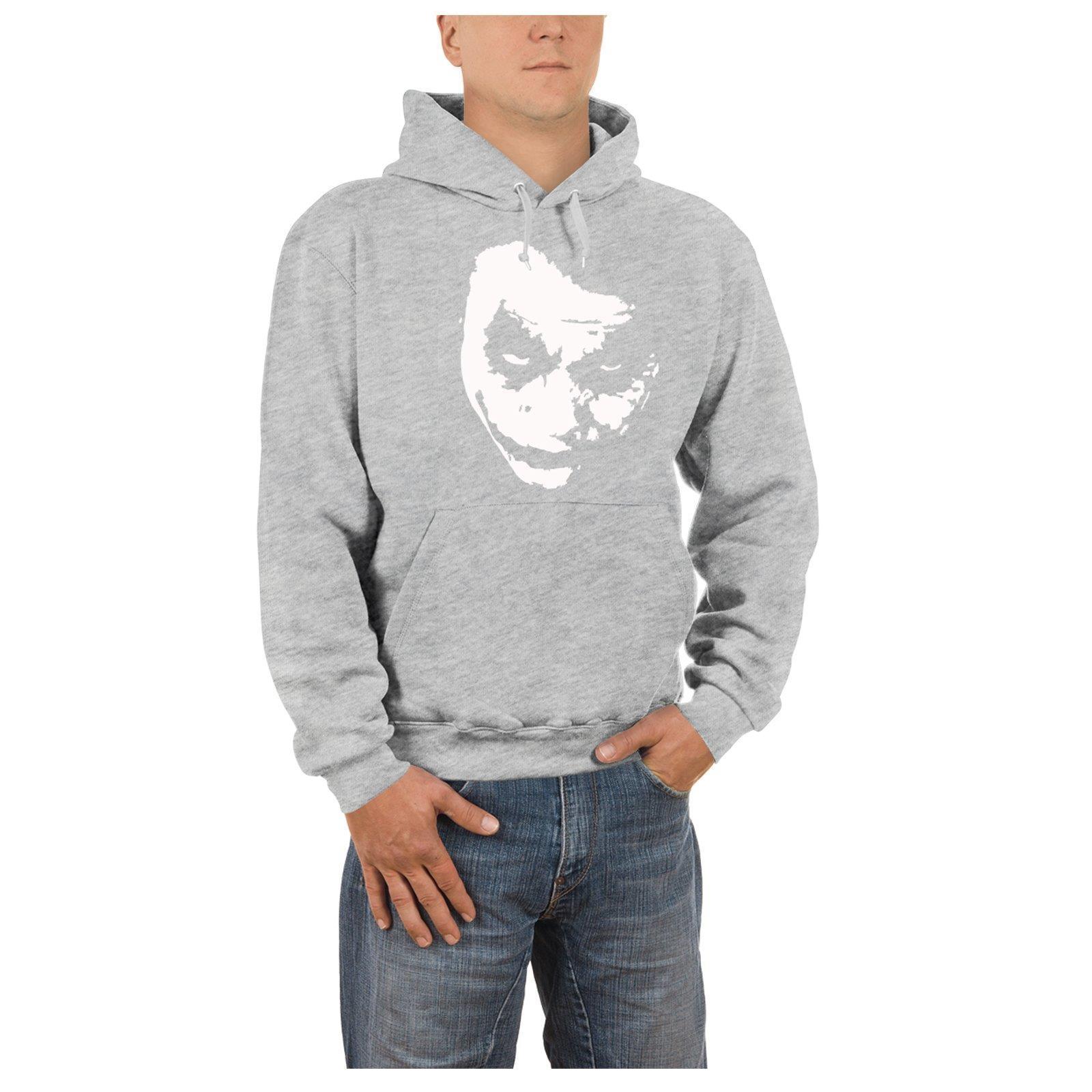 competitive price 2ff53 99b24 Details zu Kapuzen Pullover Joker Heath Ledger Why So Serious DC Batman  Hoodie Herren Warm