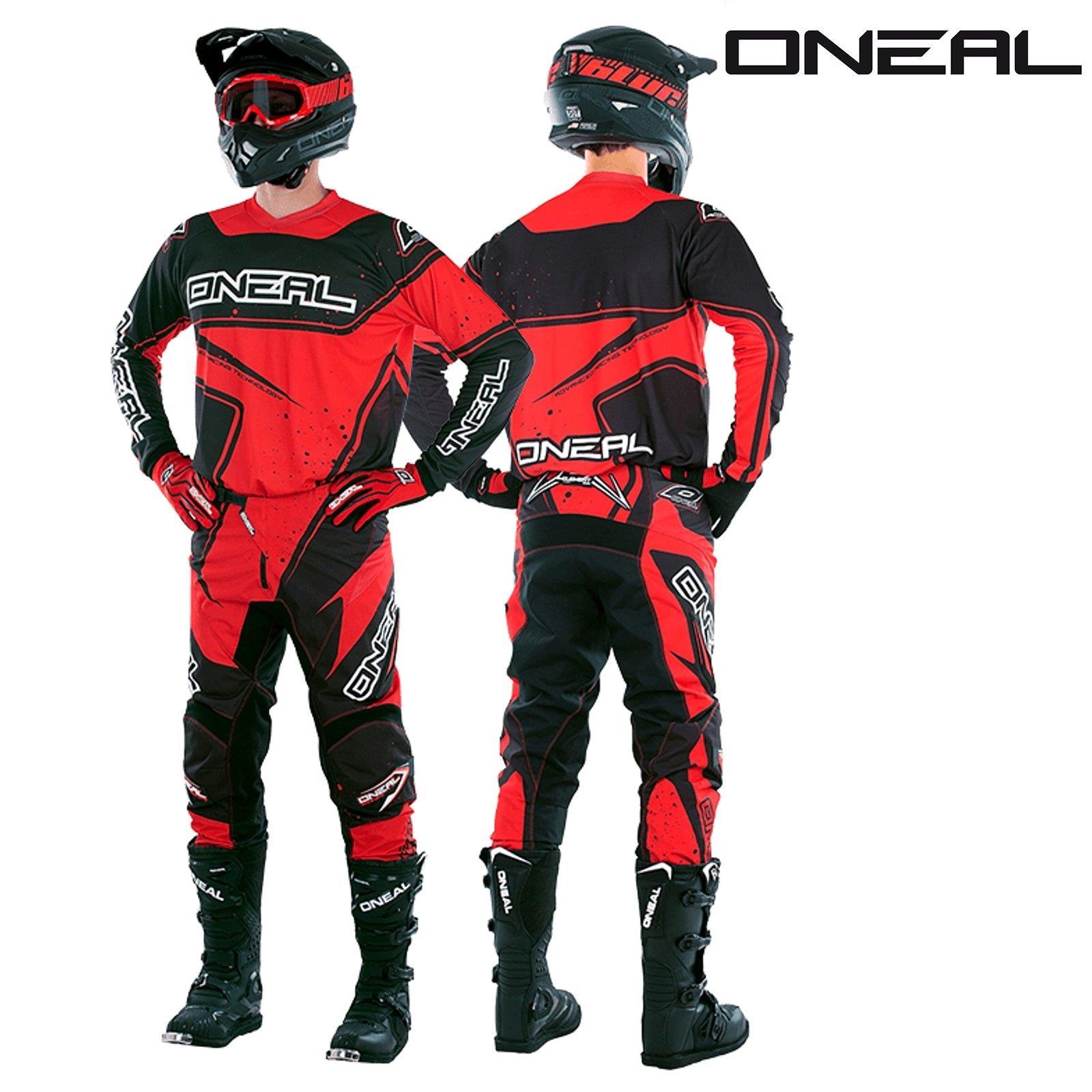 O-039-Neal-Element-racewear-Combo-Jersey-pantalon-MOTOCROSS-MX-MTB-DH-alpin-terrain
