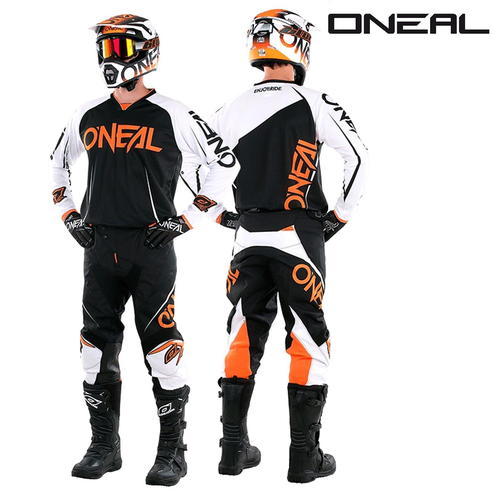 O-039-neal-Mayhem-Lite-Jersey-pantalones-combo-bloqueador-motocross-MX-quad-todoterreno-MTB-DH miniatura 2