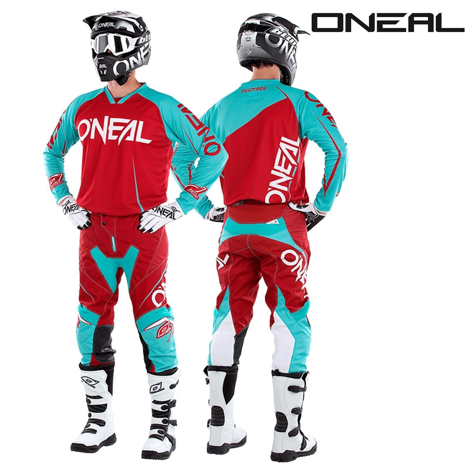 O-039-neal-Mayhem-Lite-Jersey-pantalones-combo-bloqueador-motocross-MX-quad-todoterreno-MTB-DH miniatura 17