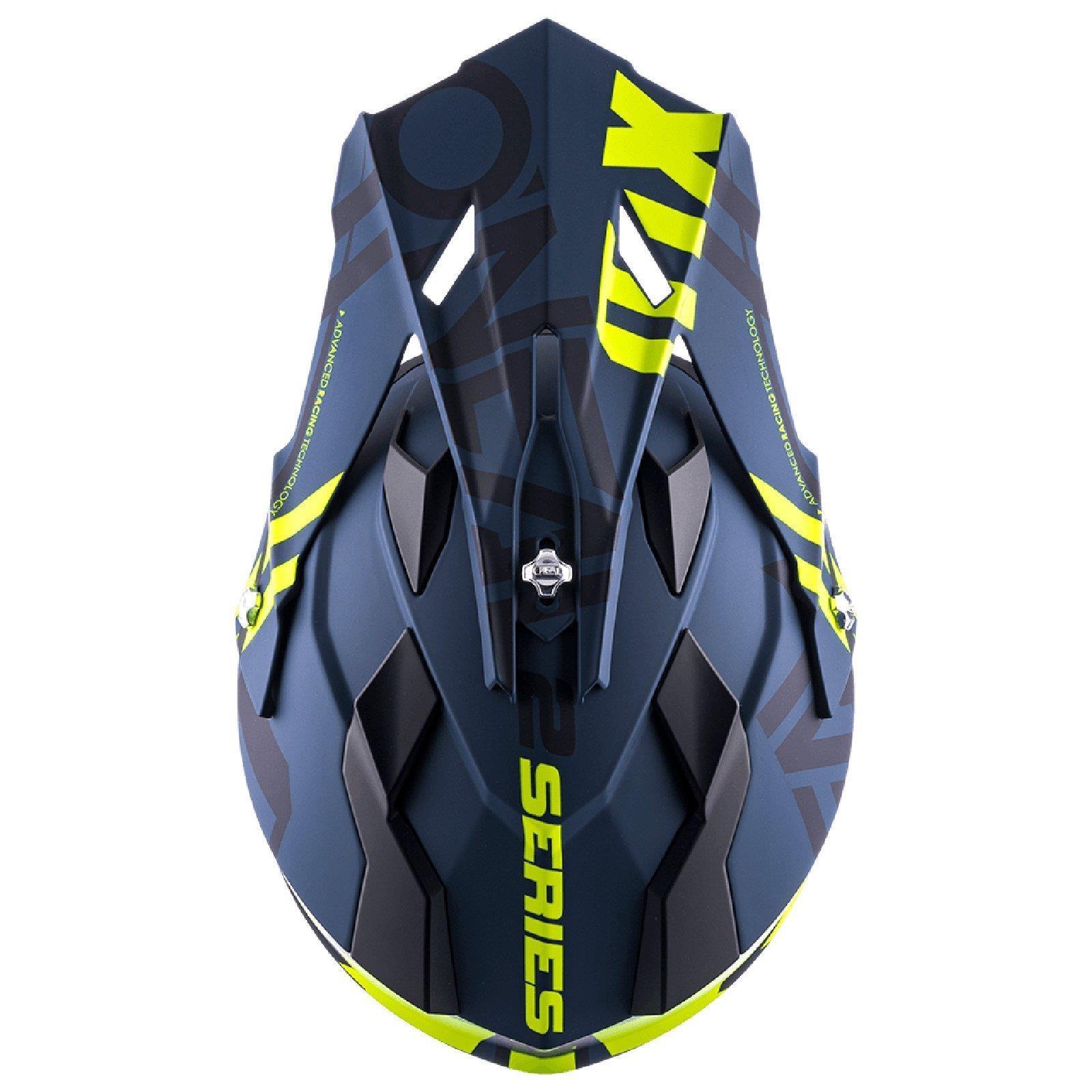 ONEAL-2-Series-RL-SPYDE-moto-cross-MX-Casco-Enduro-Trail-QUAD-OFFROAD-MOTO miniatura 21