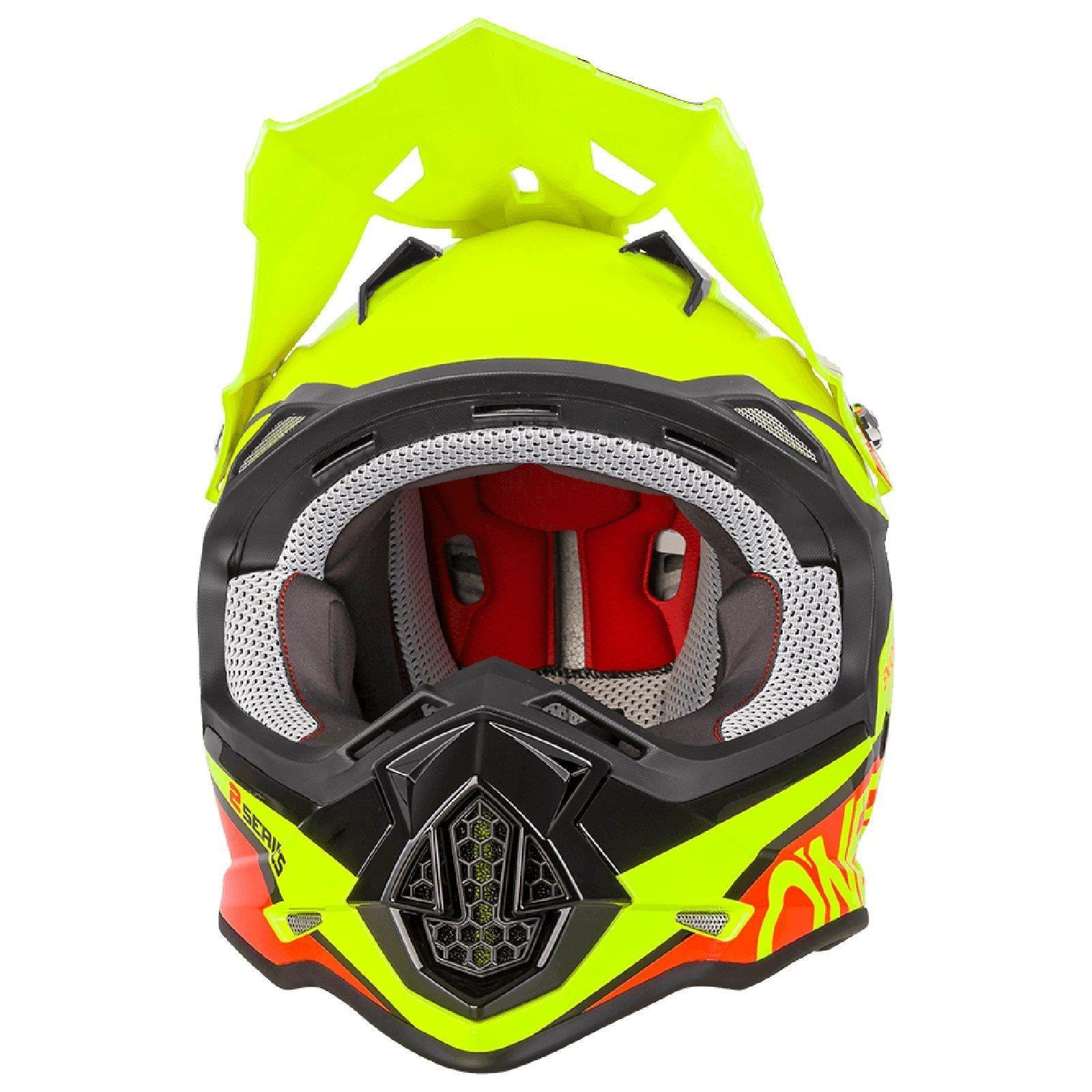 ONEAL-2-Series-RL-SPYDE-moto-cross-MX-Casco-Enduro-Trail-QUAD-OFFROAD-MOTO miniatura 14