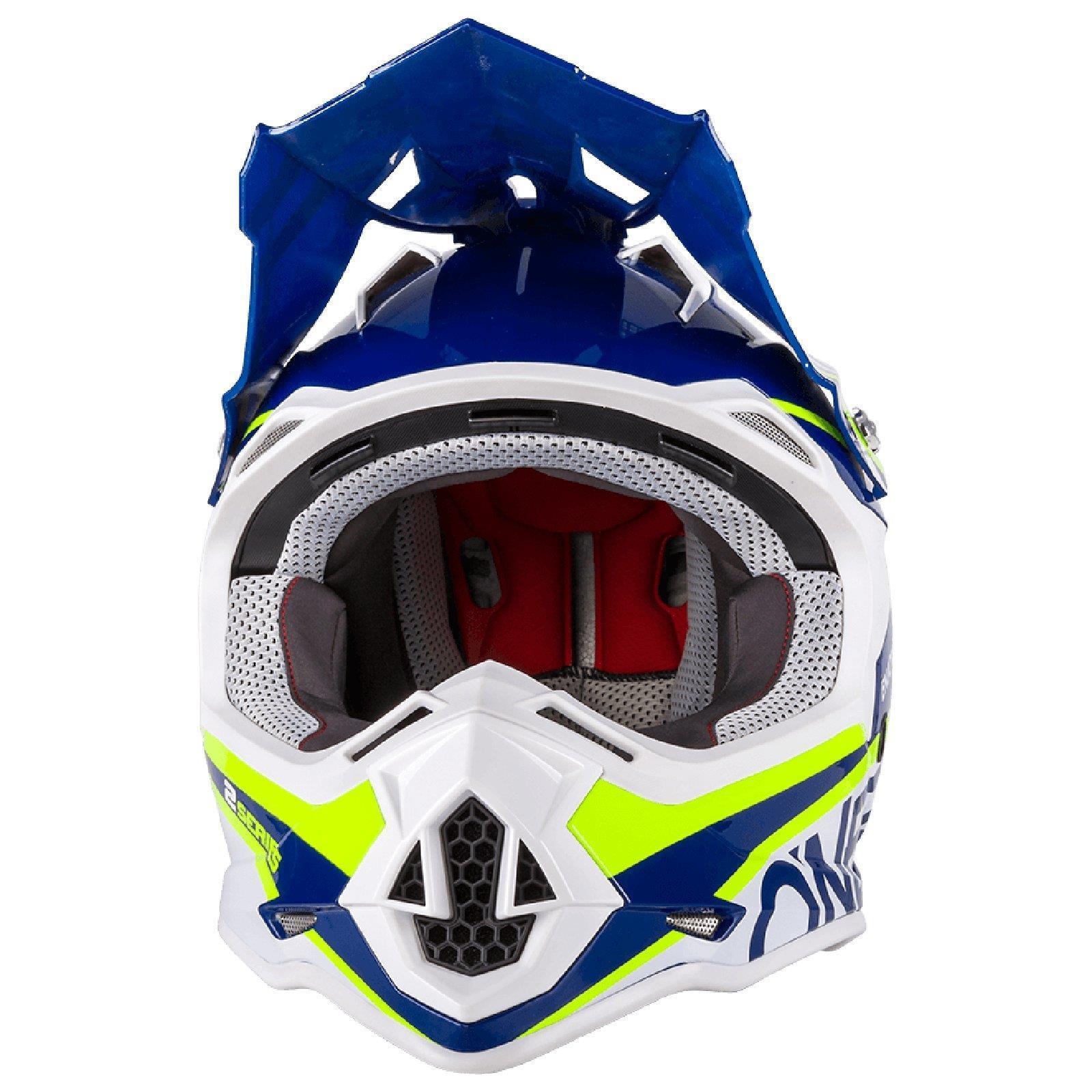 ONEAL-2-Series-RL-SPYDE-moto-cross-MX-Casco-Enduro-Trail-QUAD-OFFROAD-MOTO miniatura 8