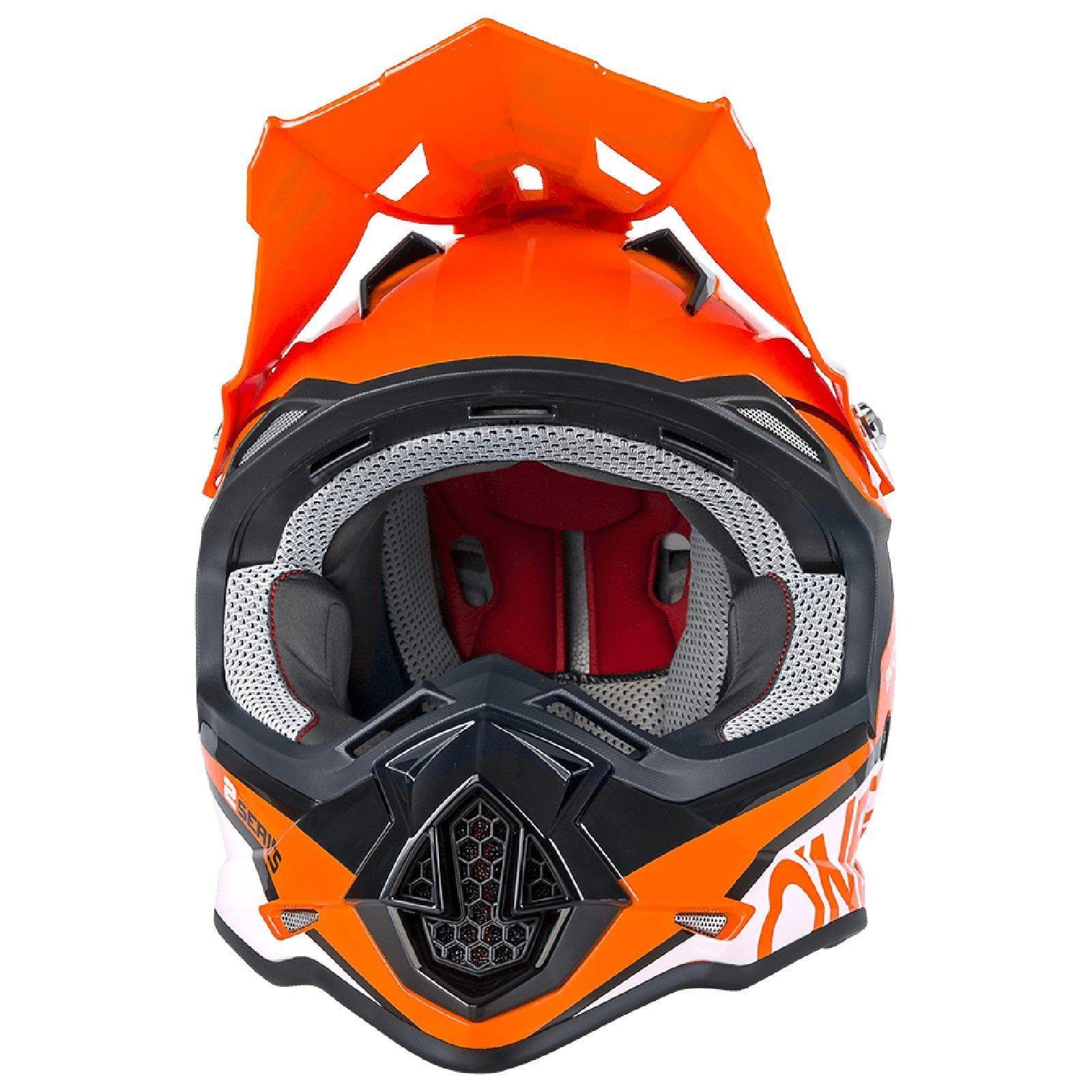 ONEAL-2-Series-RL-SPYDE-moto-cross-MX-Casco-Enduro-Trail-QUAD-OFFROAD-MOTO miniatura 17
