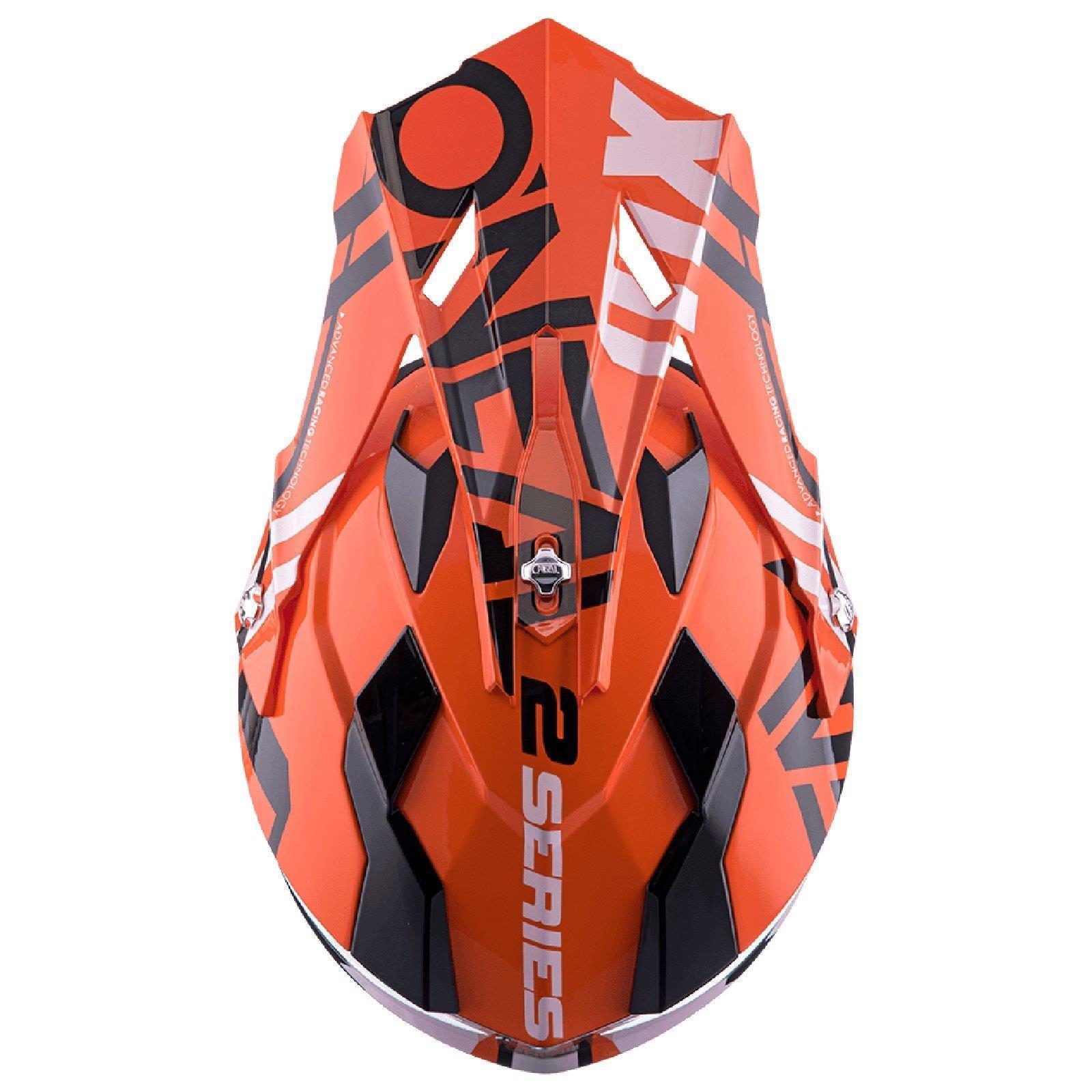 ONEAL-2-Series-RL-SPYDE-moto-cross-MX-Casco-Enduro-Trail-QUAD-OFFROAD-MOTO miniatura 18