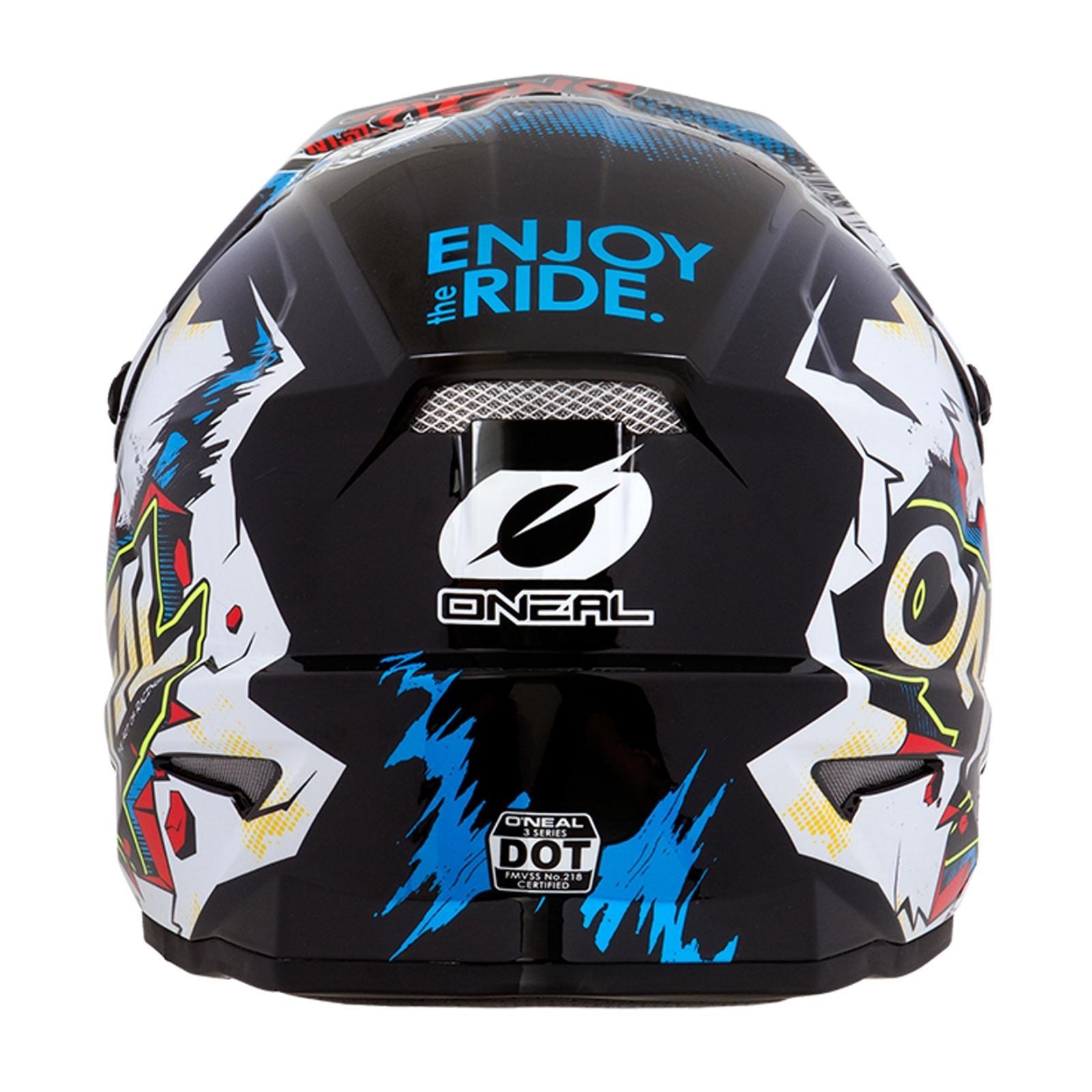 ONeal-Motocross-casco-MX-ENDURO-MOTO-BICI-FUORISTRADA-CROSS-Series-Adventure miniatura 53