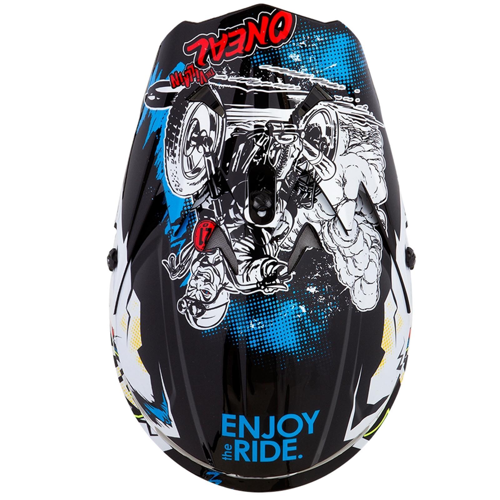 ONeal-Motocross-casco-MX-ENDURO-MOTO-BICI-FUORISTRADA-CROSS-Series-Adventure miniatura 54