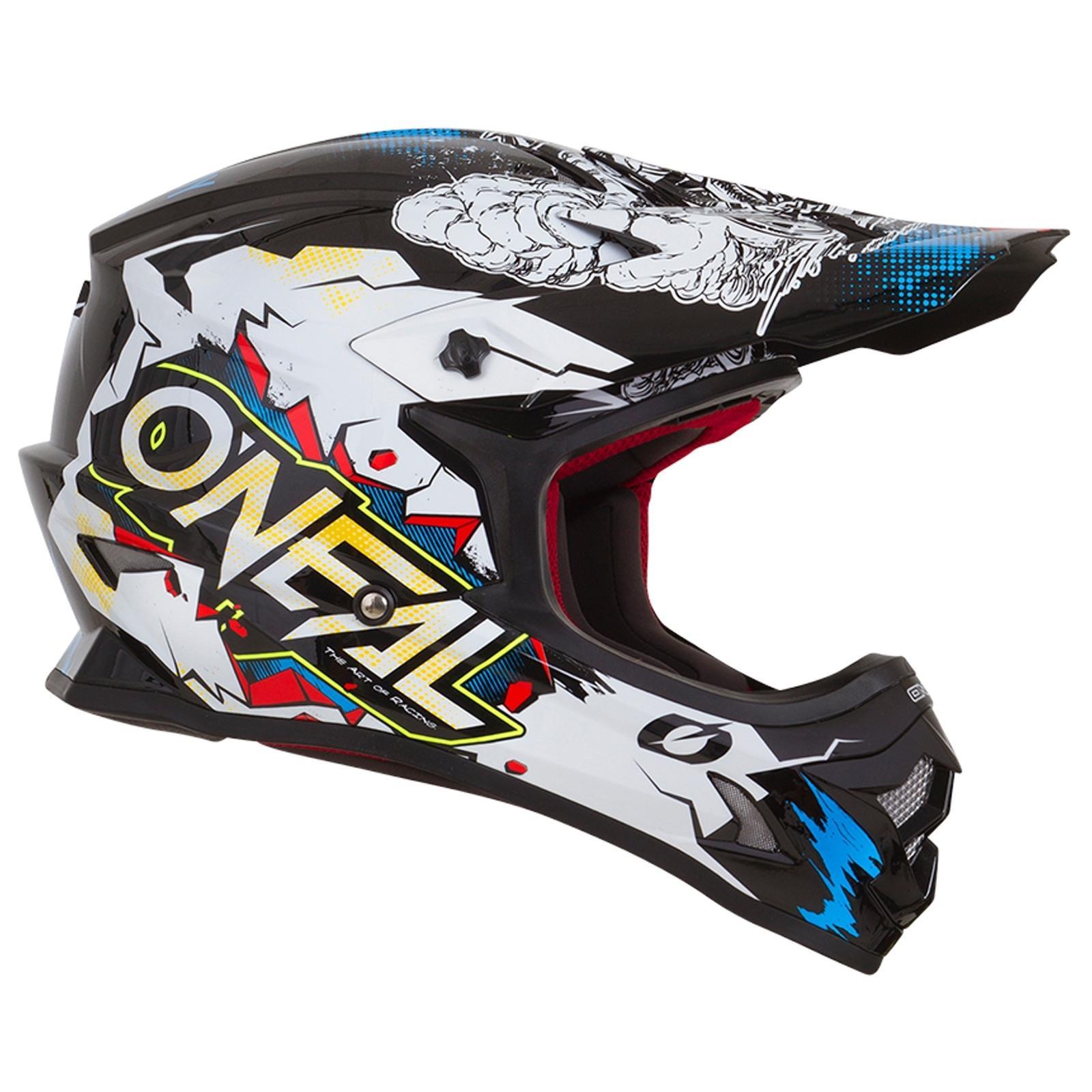 ONeal-Motocross-casco-MX-ENDURO-MOTO-BICI-FUORISTRADA-CROSS-Series-Adventure miniatura 55