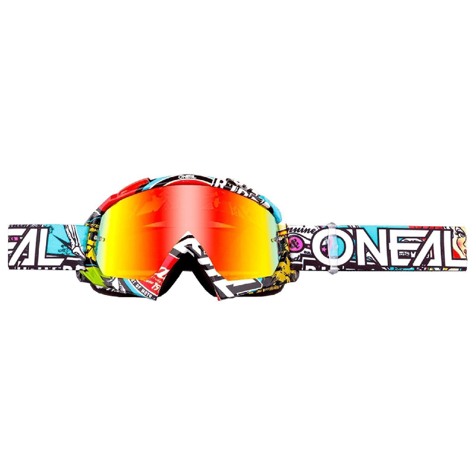 O-039-Neal-Crossbrille-Goggle-MOTOCROSS-DOWNHILL-MX-MTB-DH-b1-b2-b30-B-Zero-B-Flex miniatura 73