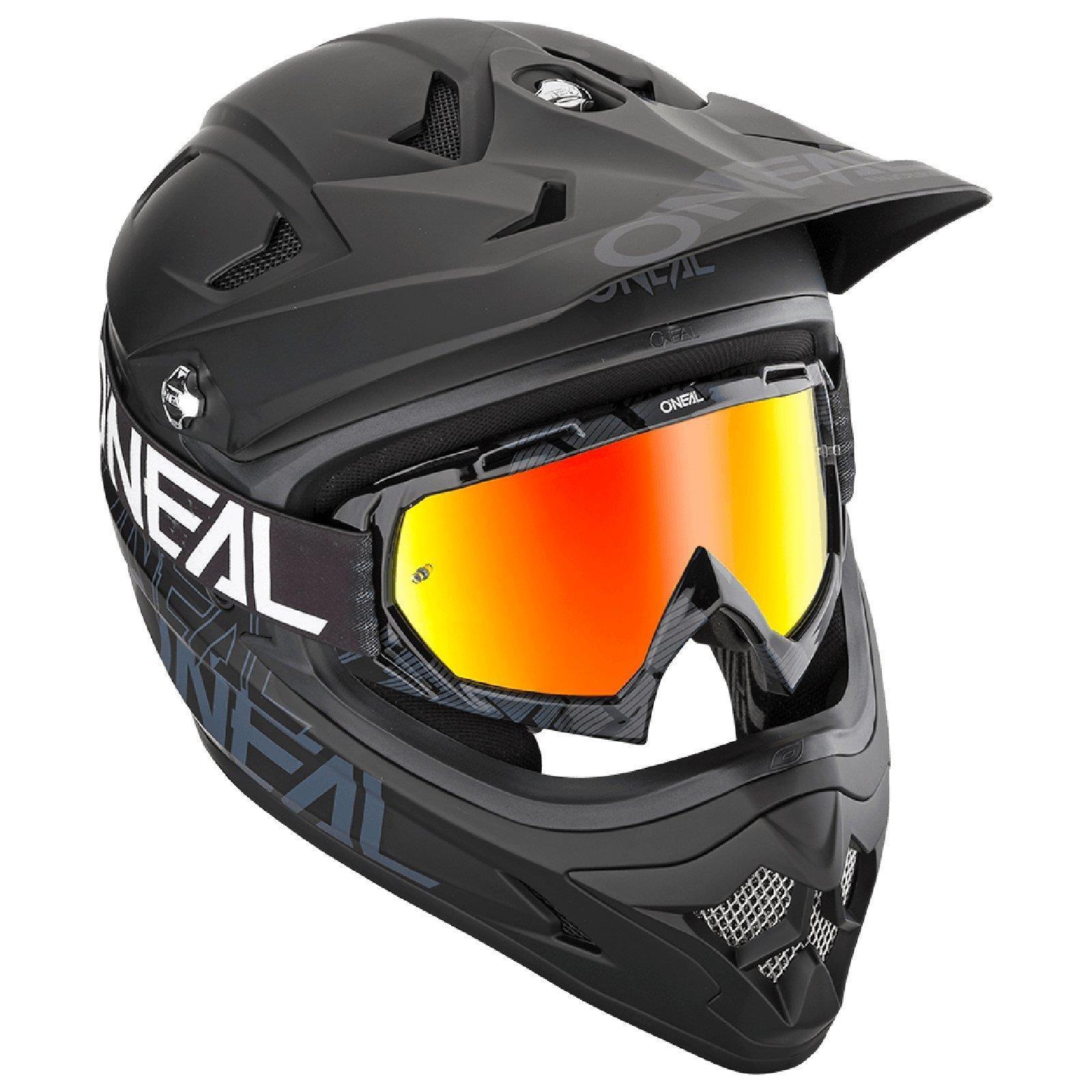 miniatuur 15 - O'Neal B-10 Goggle Pixel Radium Moto Cross Brille Downhill AntiFog Mountainbike