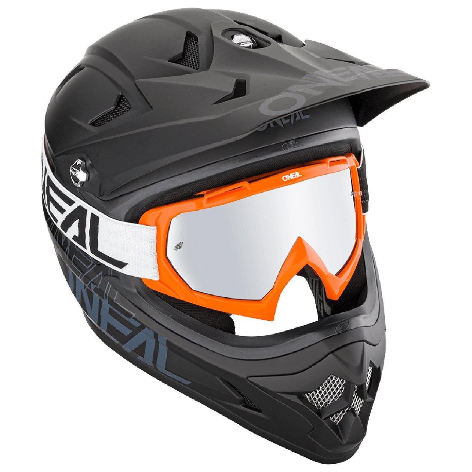 miniatuur 9 - O'Neal B-10 Goggle Twoface MX Brille Verspiegelt Silber Moto Cross Downhill MTB