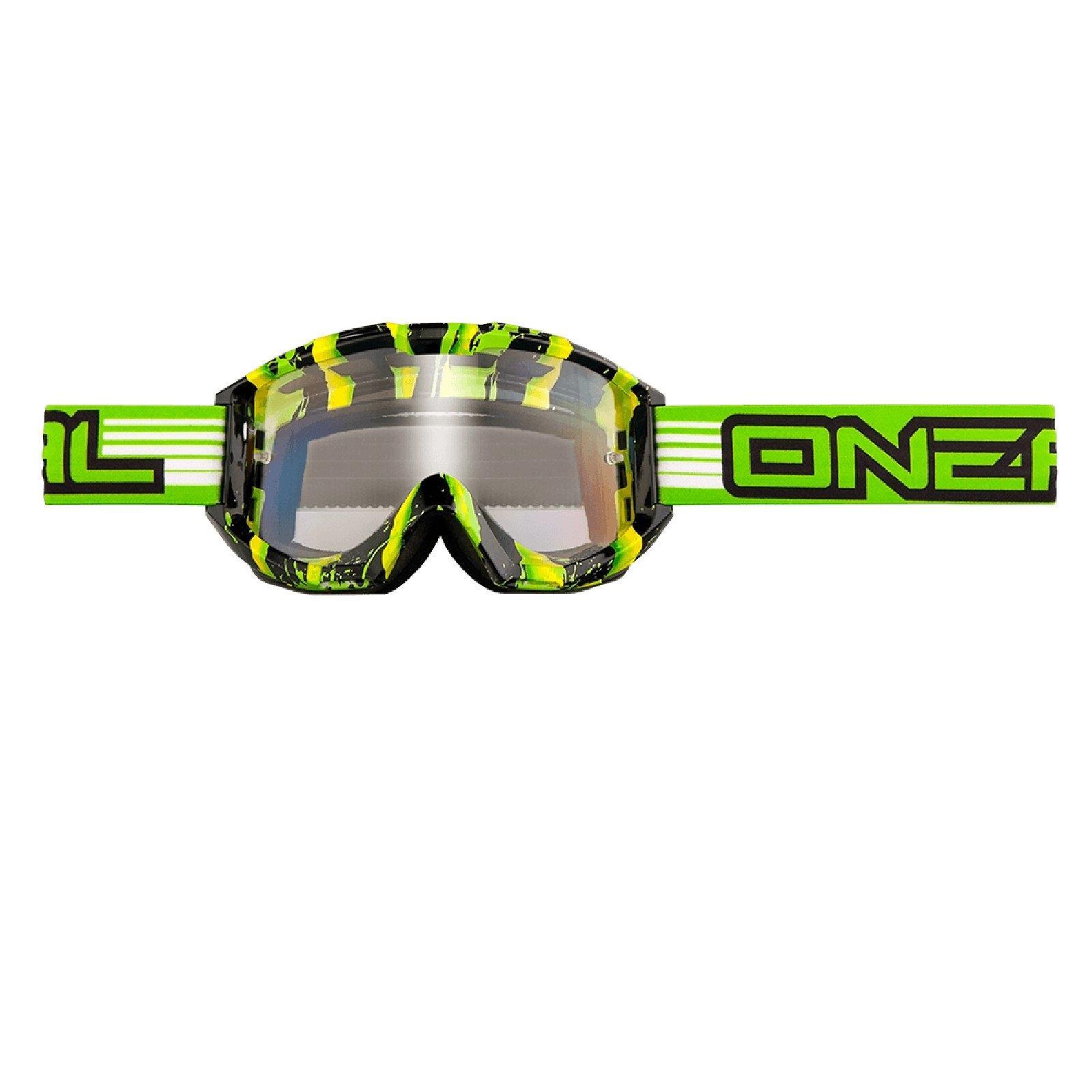 O-039-Neal-Crossbrille-Goggle-MOTOCROSS-DOWNHILL-MX-MTB-DH-b1-b2-b30-B-Zero-B-Flex miniatura 44