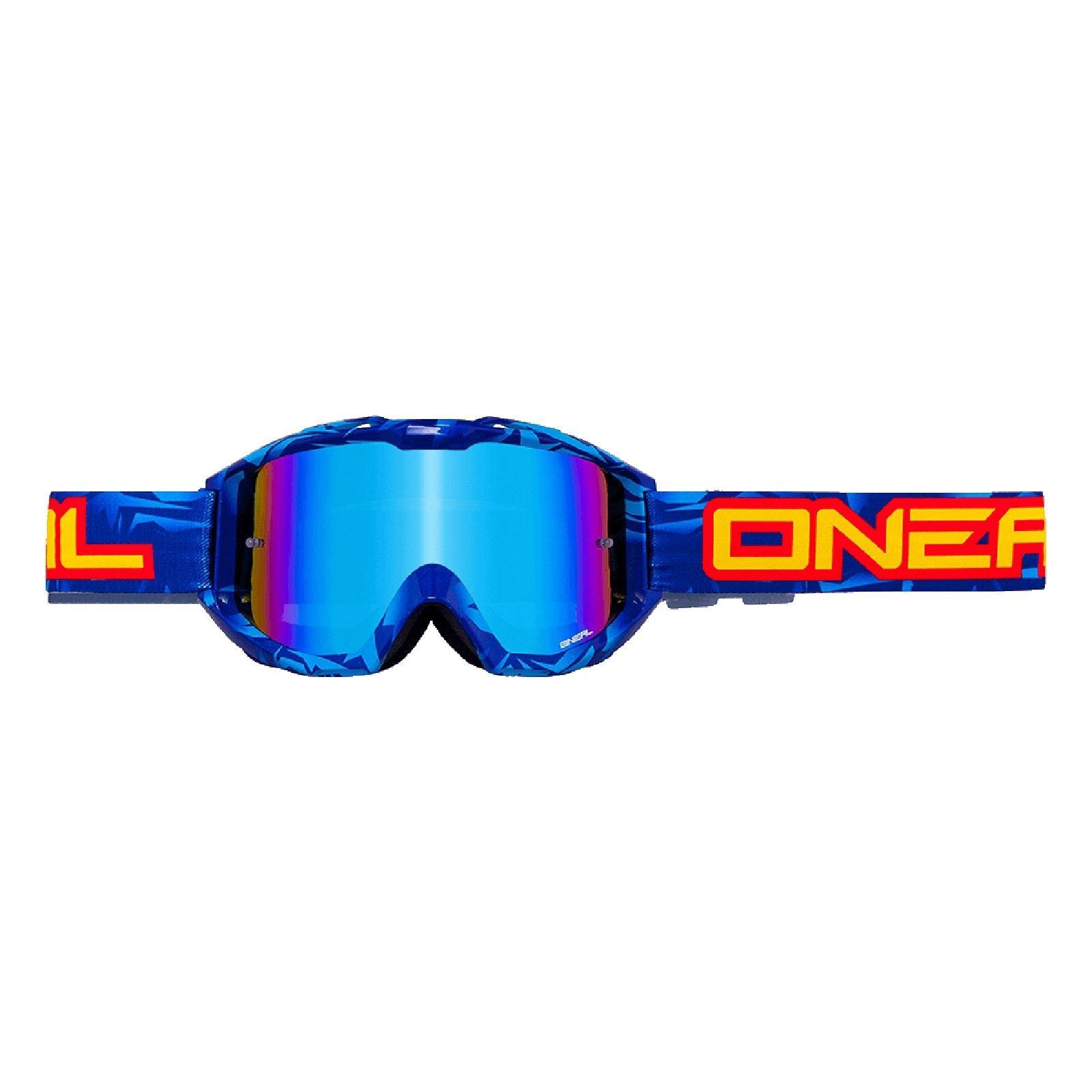 O-039-Neal-Crossbrille-Goggle-MOTOCROSS-DOWNHILL-MX-MTB-DH-b1-b2-b30-B-Zero-B-Flex miniatura 46