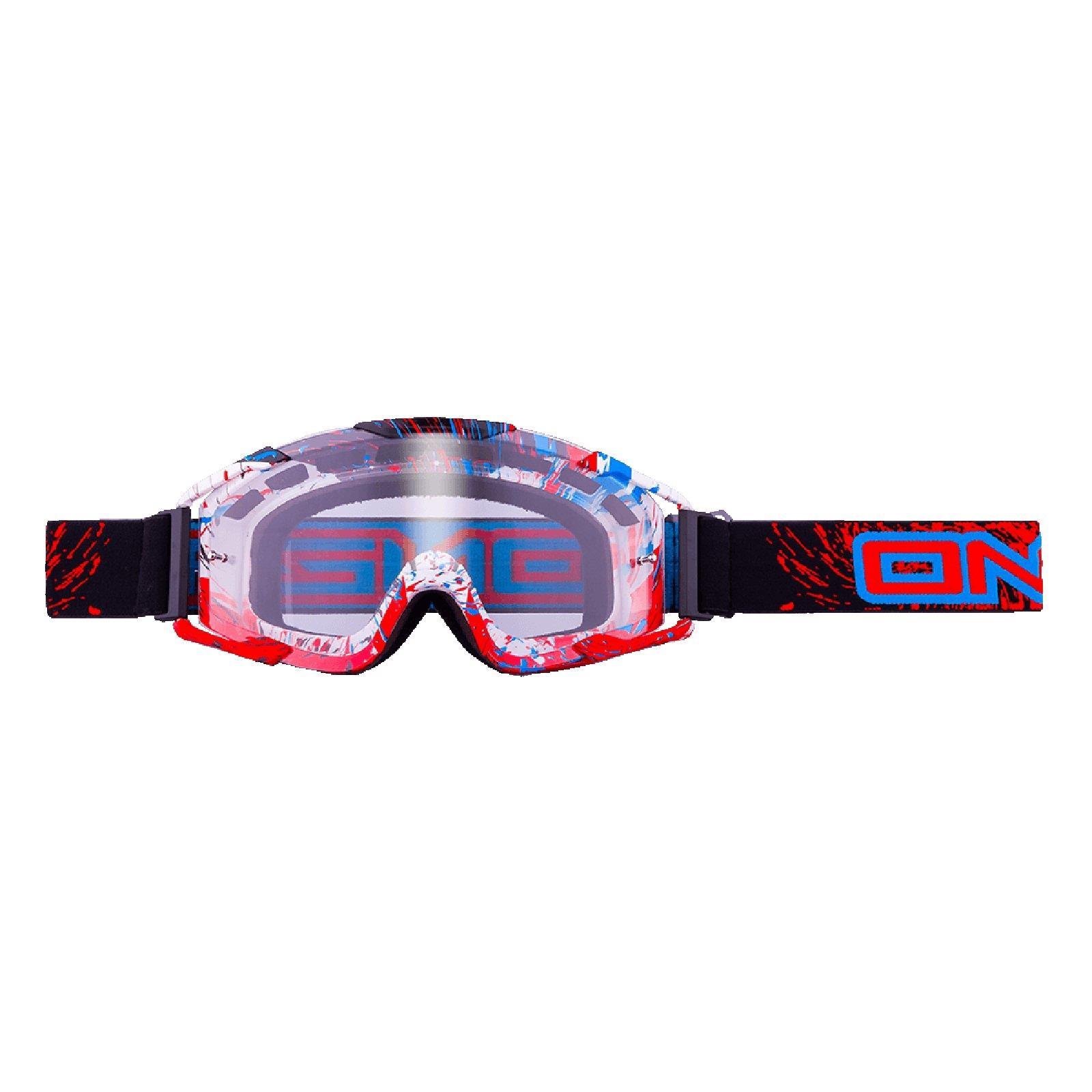 O-039-Neal-Crossbrille-Goggle-MOTOCROSS-DOWNHILL-MX-MTB-DH-b1-b2-b30-B-Zero-B-Flex miniatura 56