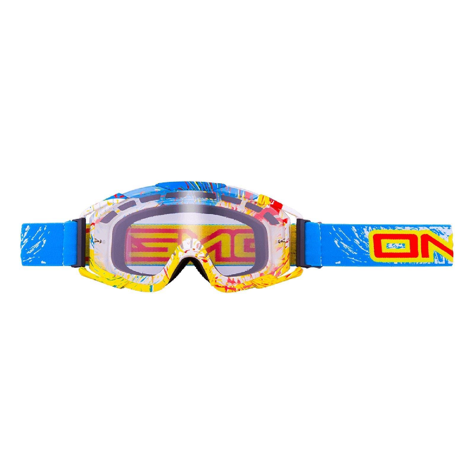 O-039-Neal-Crossbrille-Goggle-MOTOCROSS-DOWNHILL-MX-MTB-DH-b1-b2-b30-B-Zero-B-Flex miniatura 54