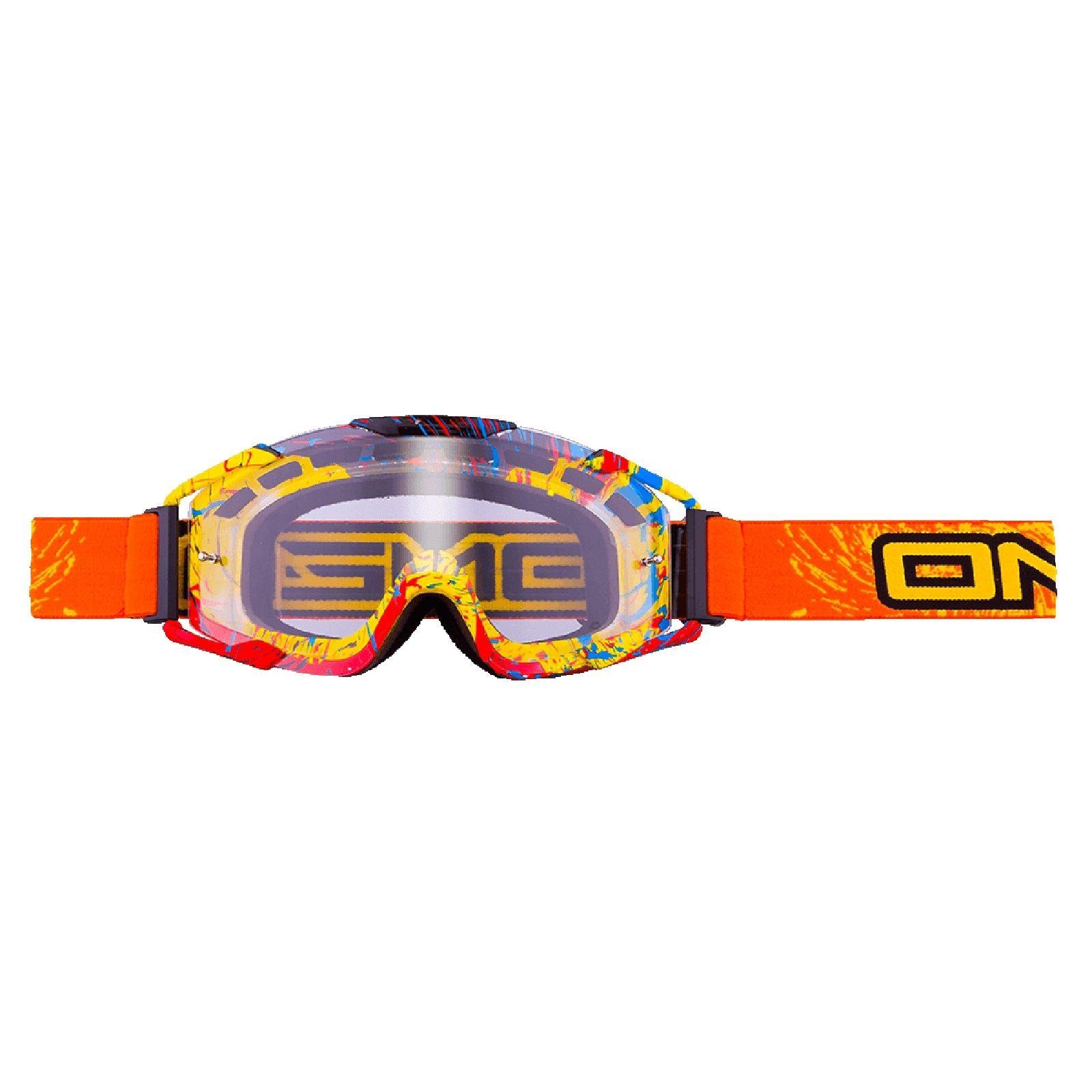 O-039-Neal-Crossbrille-Goggle-MOTOCROSS-DOWNHILL-MX-MTB-DH-b1-b2-b30-B-Zero-B-Flex miniatura 58