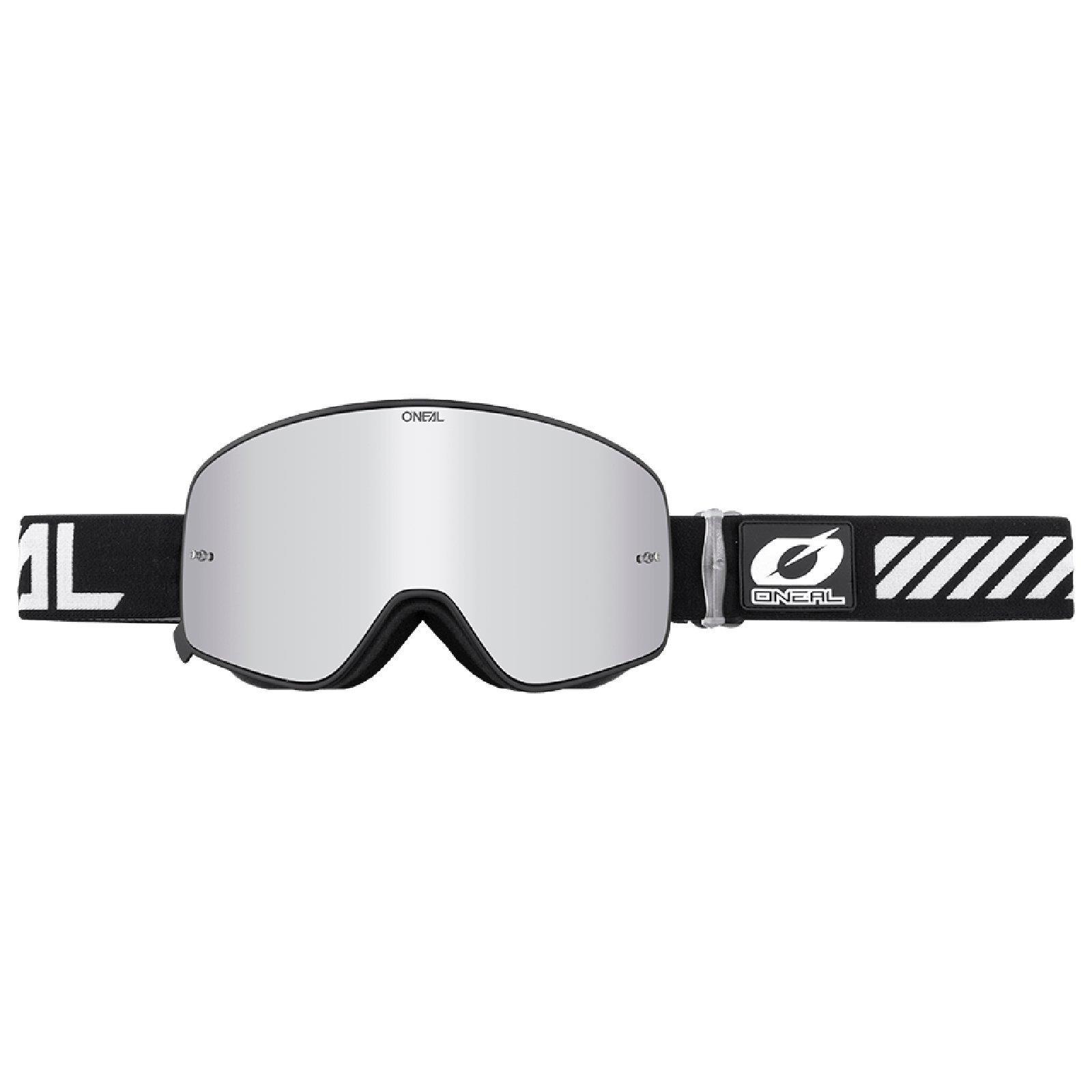 Ersatz Scheibe MTB ONeal B-50 Goggle Force Moto Cross Brille Verspiegelt Klar