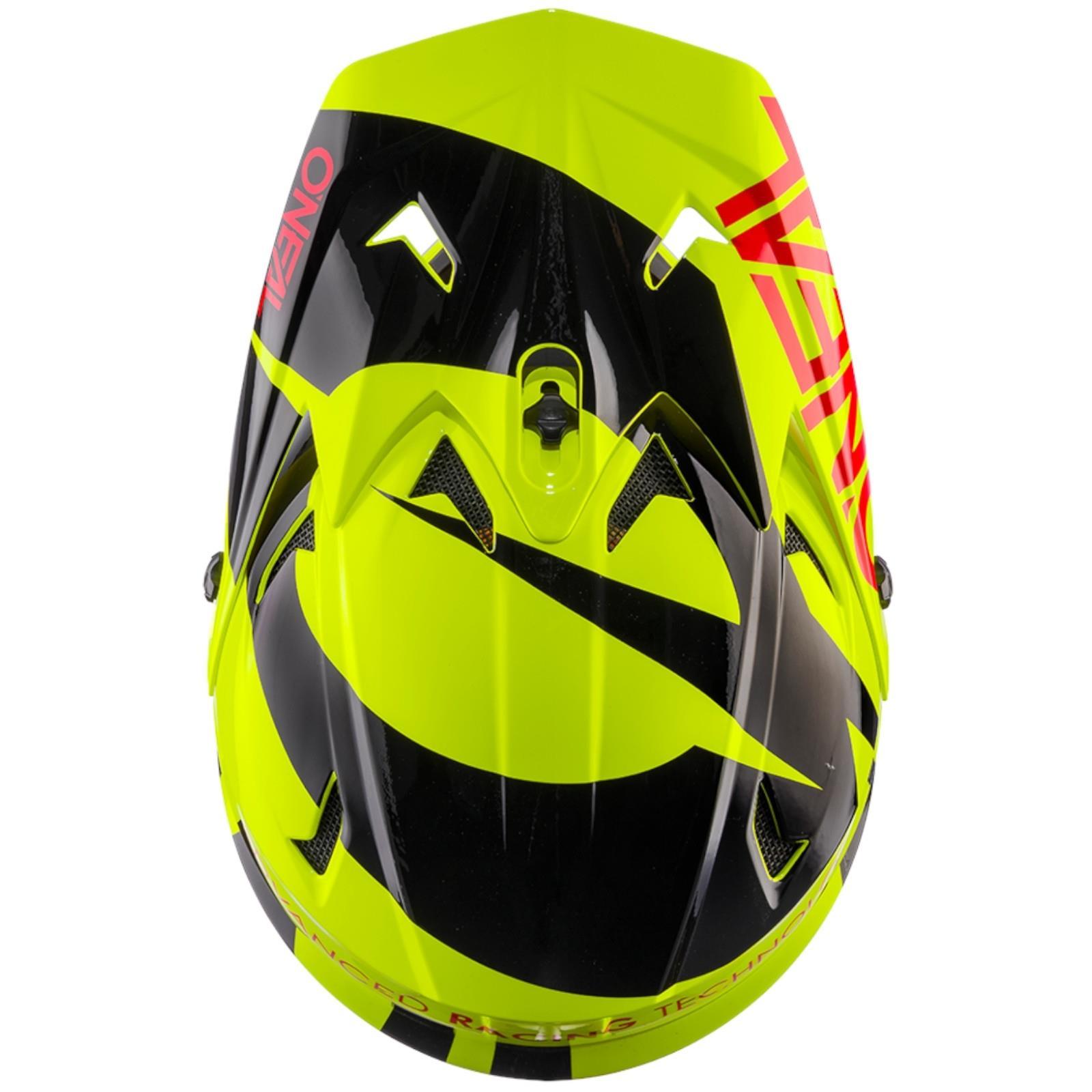 O/'Neal Backflip RL2 Slick Fahrrad Helm Downhill MTB Mountain Bike FR DH Fullface