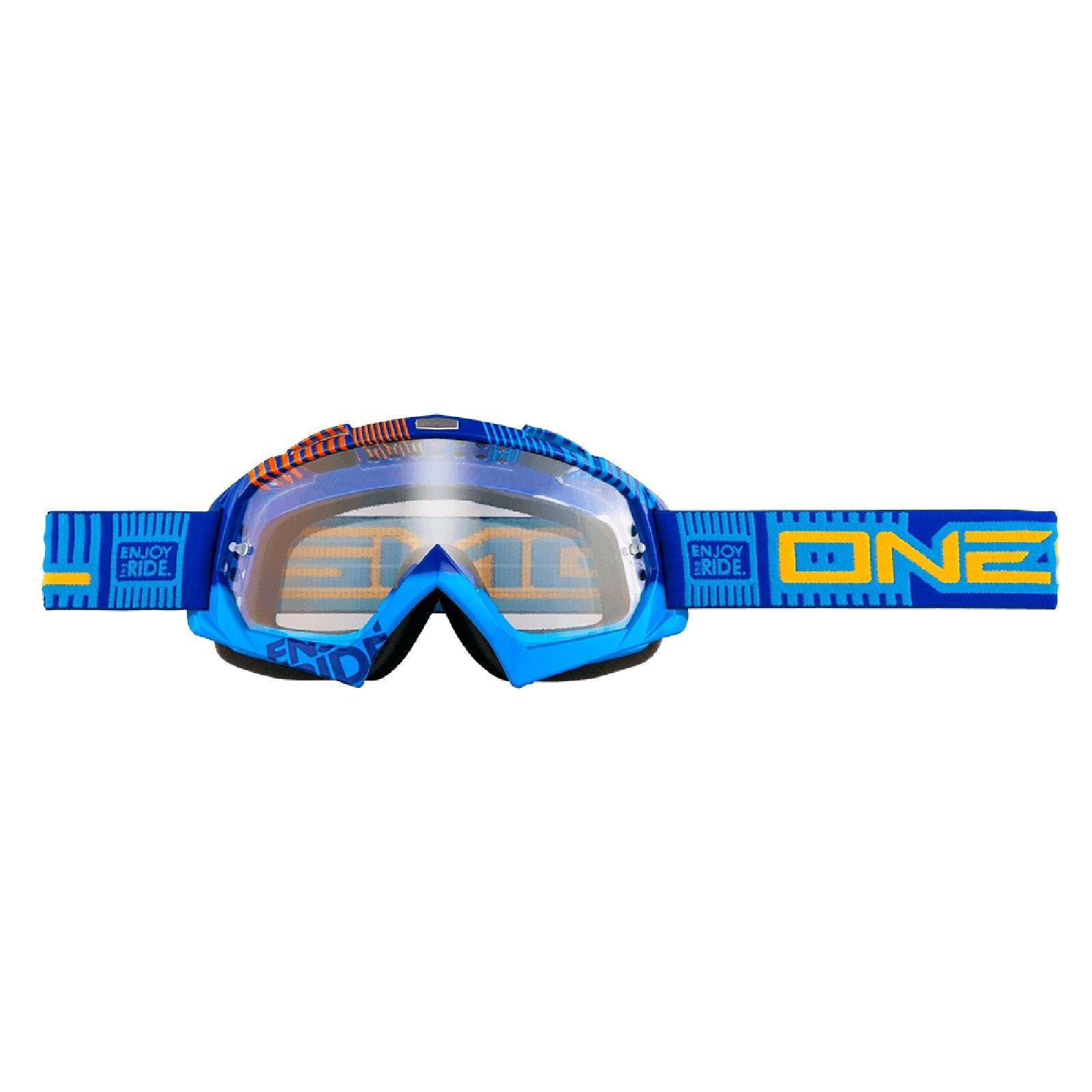 O-039-Neal-Crossbrille-Goggle-MOTOCROSS-DOWNHILL-MX-MTB-DH-b1-b2-b30-B-Zero-B-Flex miniatura 26