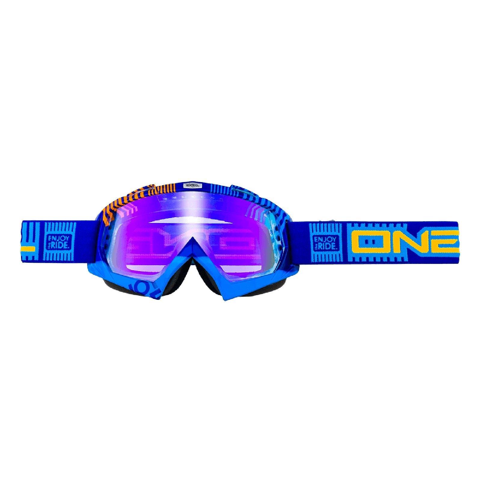 O-039-Neal-Crossbrille-Goggle-MOTOCROSS-DOWNHILL-MX-MTB-DH-b1-b2-b30-B-Zero-B-Flex miniatura 27