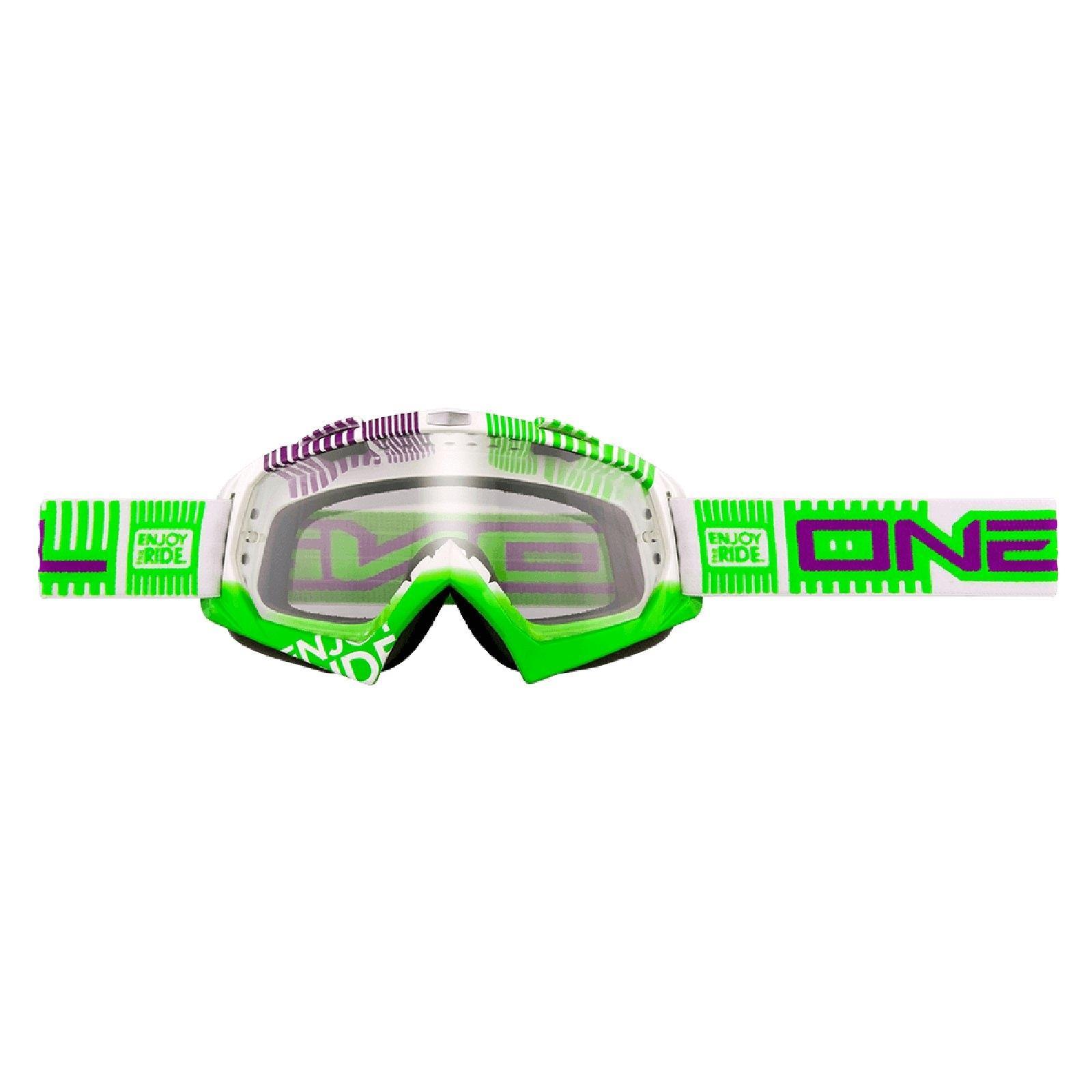 O-039-Neal-B-FLEX-chiaramente-MX-Goggle-Motocross-Occhiali-moto-Downhill-Mountain-Bike-DH miniatura 14