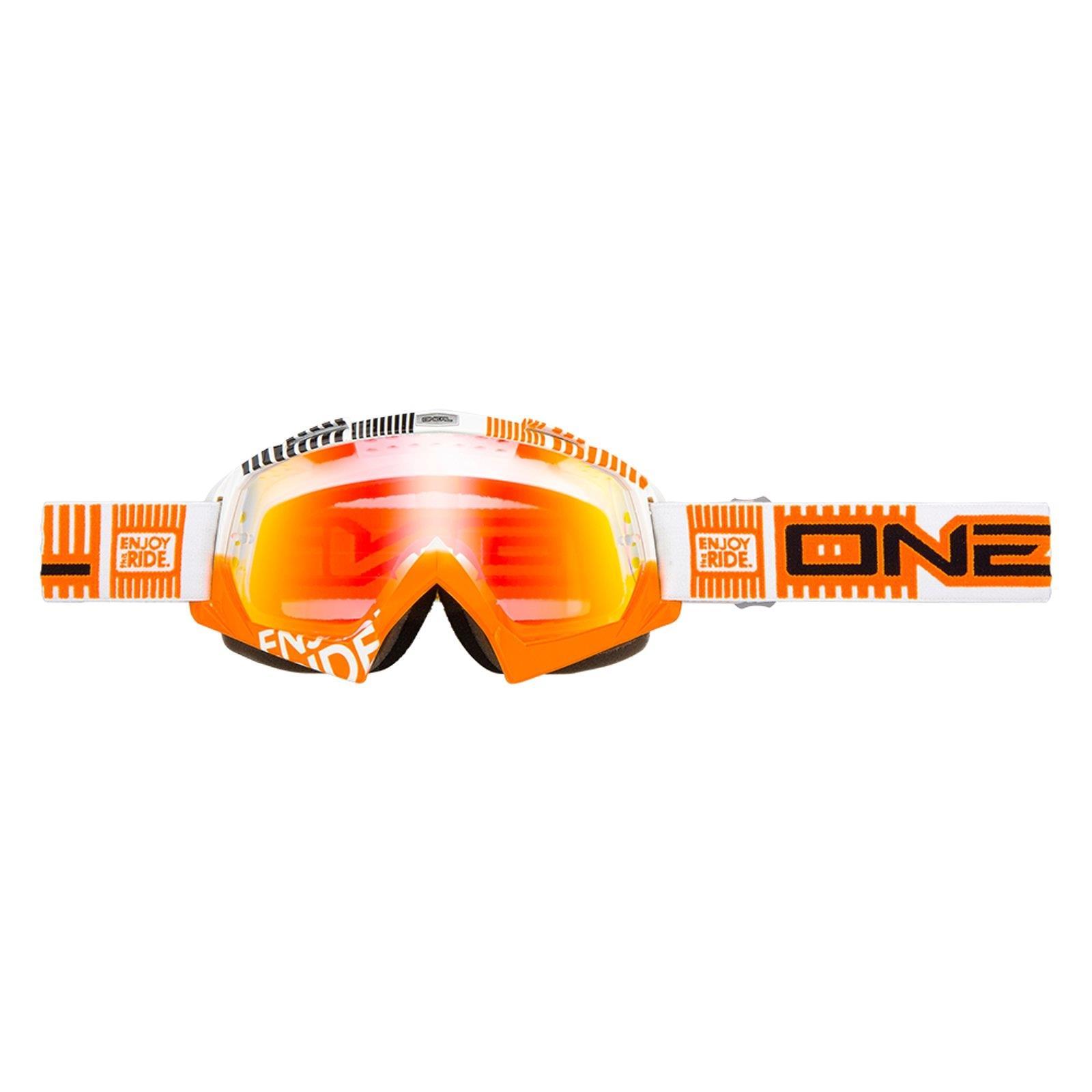 O-039-Neal-Crossbrille-Goggle-MOTOCROSS-DOWNHILL-MX-MTB-DH-b1-b2-b30-B-Zero-B-Flex miniatura 29