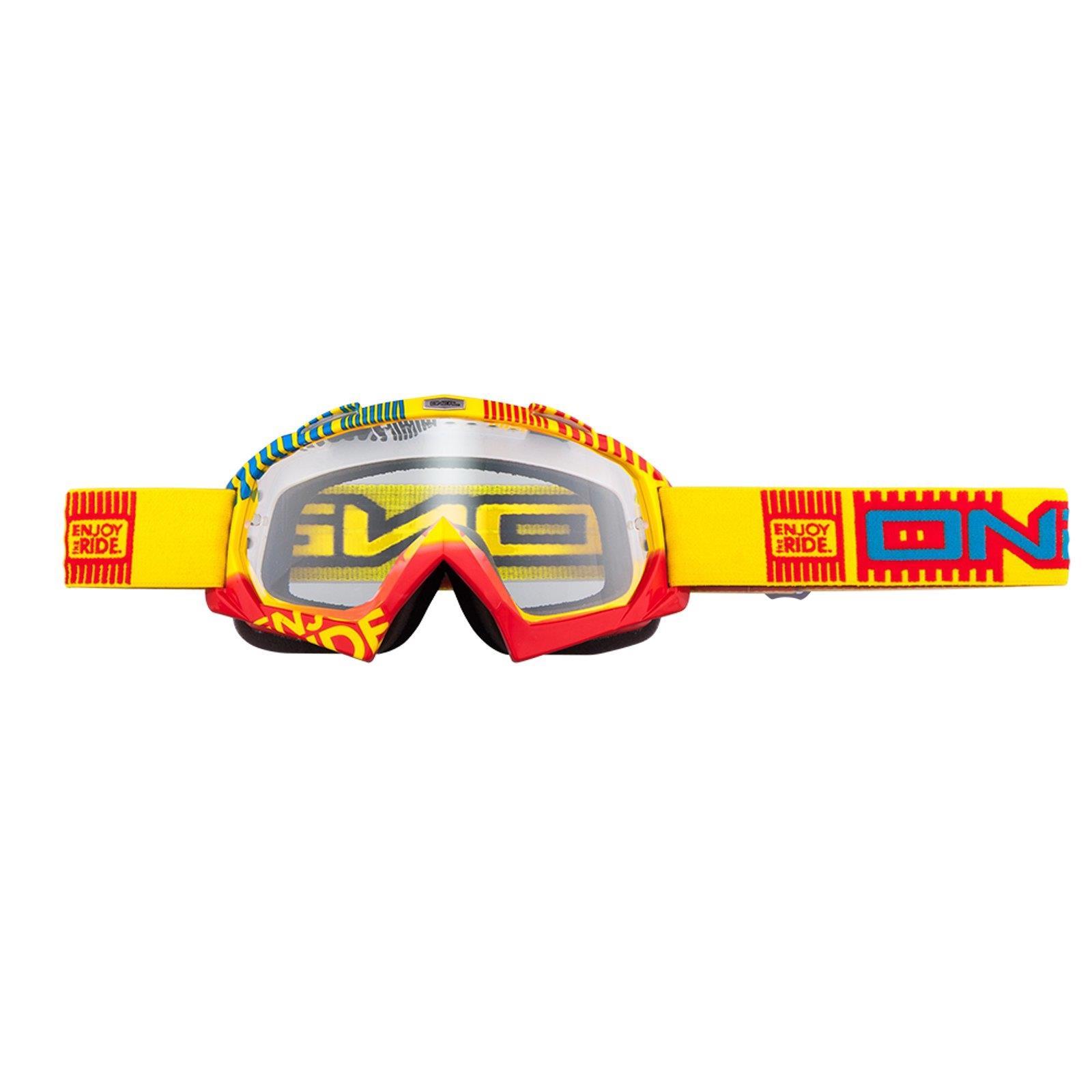 O-039-Neal-Crossbrille-Goggle-MOTOCROSS-DOWNHILL-MX-MTB-DH-b1-b2-b30-B-Zero-B-Flex miniatura 8