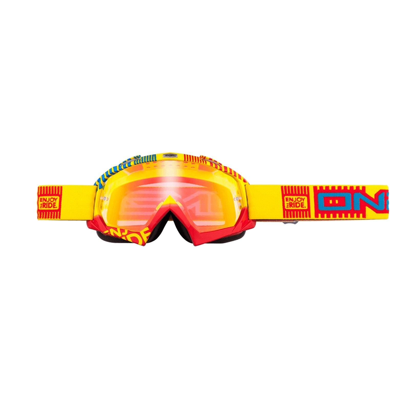 O-039-Neal-Crossbrille-Goggle-MOTOCROSS-DOWNHILL-MX-MTB-DH-b1-b2-b30-B-Zero-B-Flex miniatura 9