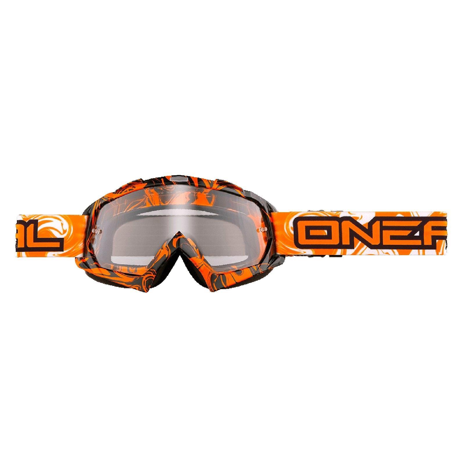O-039-Neal-B-FLEX-chiaramente-MX-Goggle-Motocross-Occhiali-moto-Downhill-Mountain-Bike-DH miniatura 8