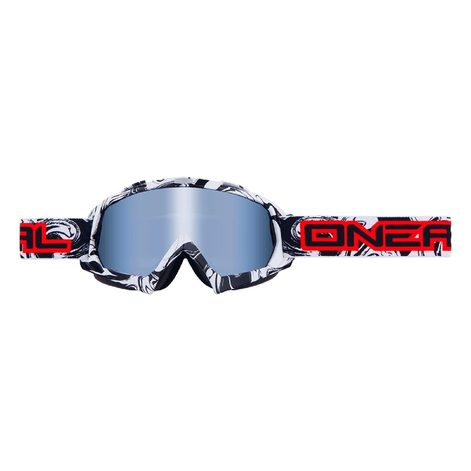 O-039-Neal-B-FLEX-chiaramente-MX-Goggle-Motocross-Occhiali-moto-Downhill-Mountain-Bike-DH miniatura 10