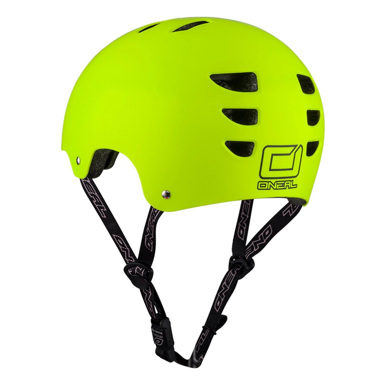 O'Neal Dirt Lid Lid Lid Fidlock ProFit Helm MATT NEON Gelb BMX MTB Skate Fahrrad Magnet 831217