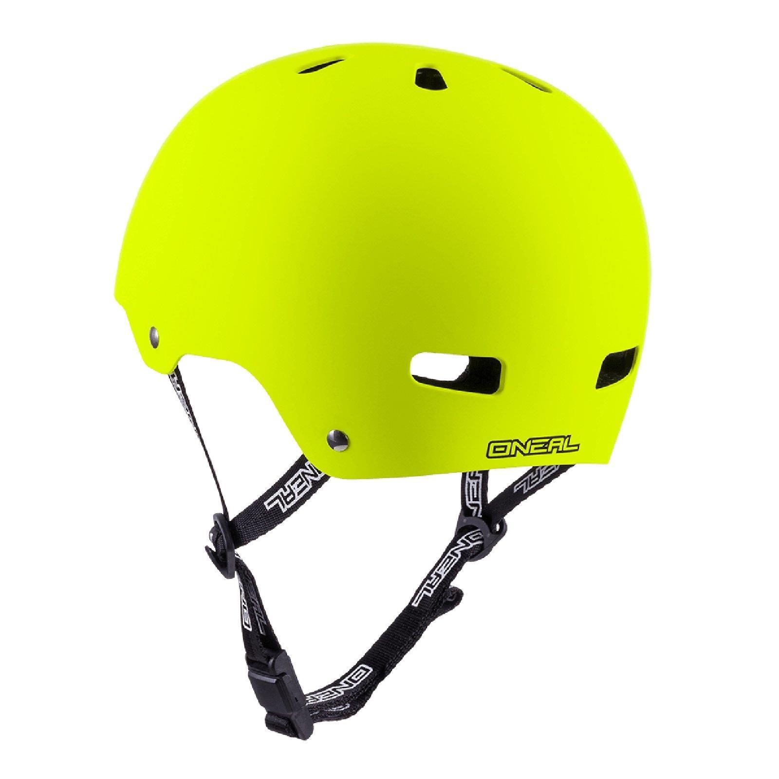 ONeal Dirt Lid ZF Fahrrad Helm DIRT Matt Neon Gelb Gelb Gelb MTB BMX FR Magnet Skate 7515fd