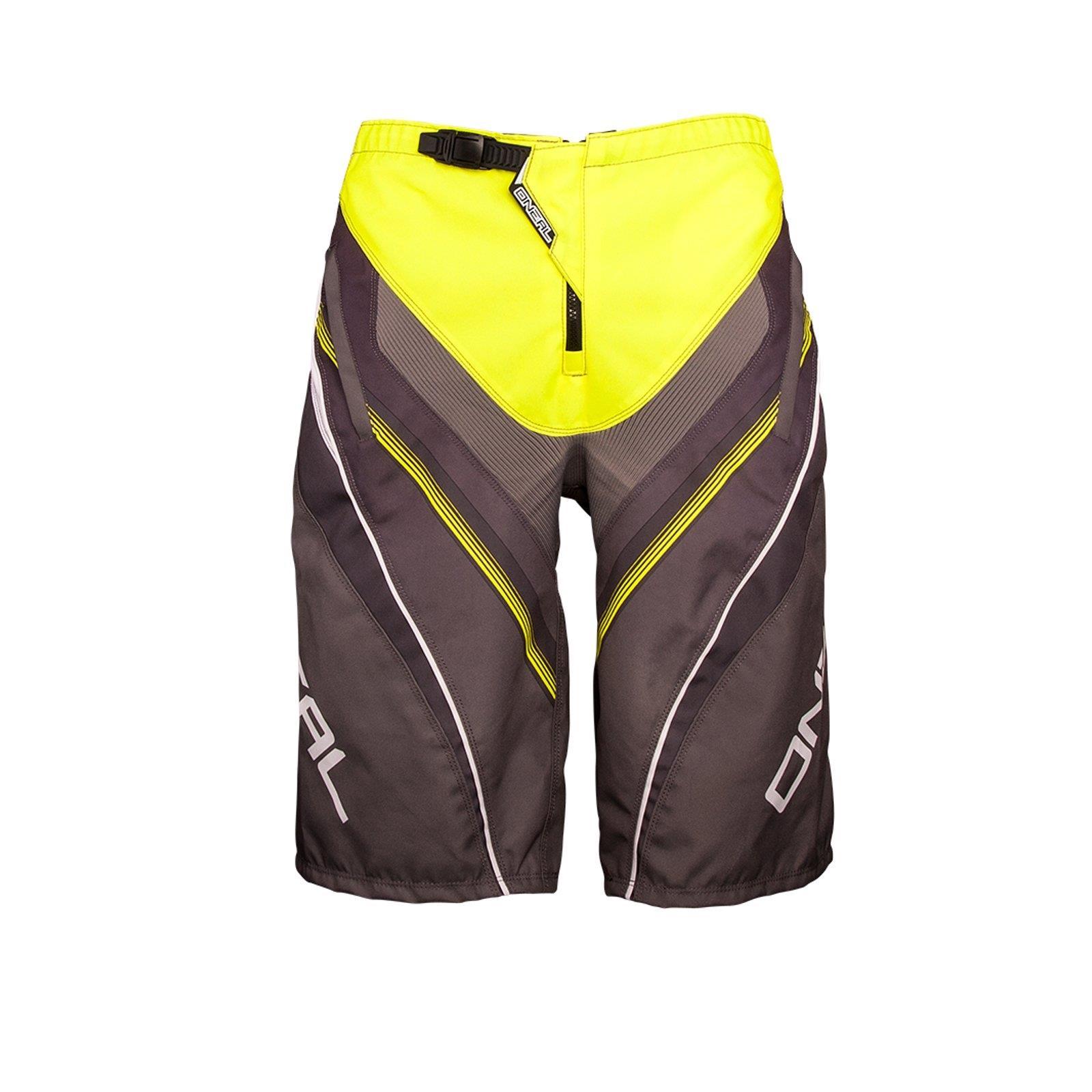 ONEAL-Element-FR-Short-Giallo-MTB-DH-MX-CROSS-SHORTS-PANTALONI-Downhill-Mountain-Bike-FR miniatura 7