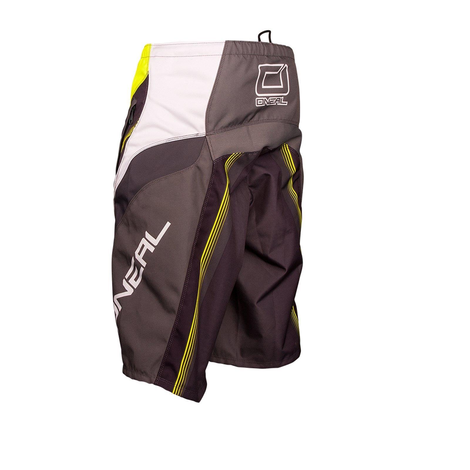 ONEAL-Element-FR-Short-Giallo-MTB-DH-MX-CROSS-SHORTS-PANTALONI-Downhill-Mountain-Bike-FR miniatura 9